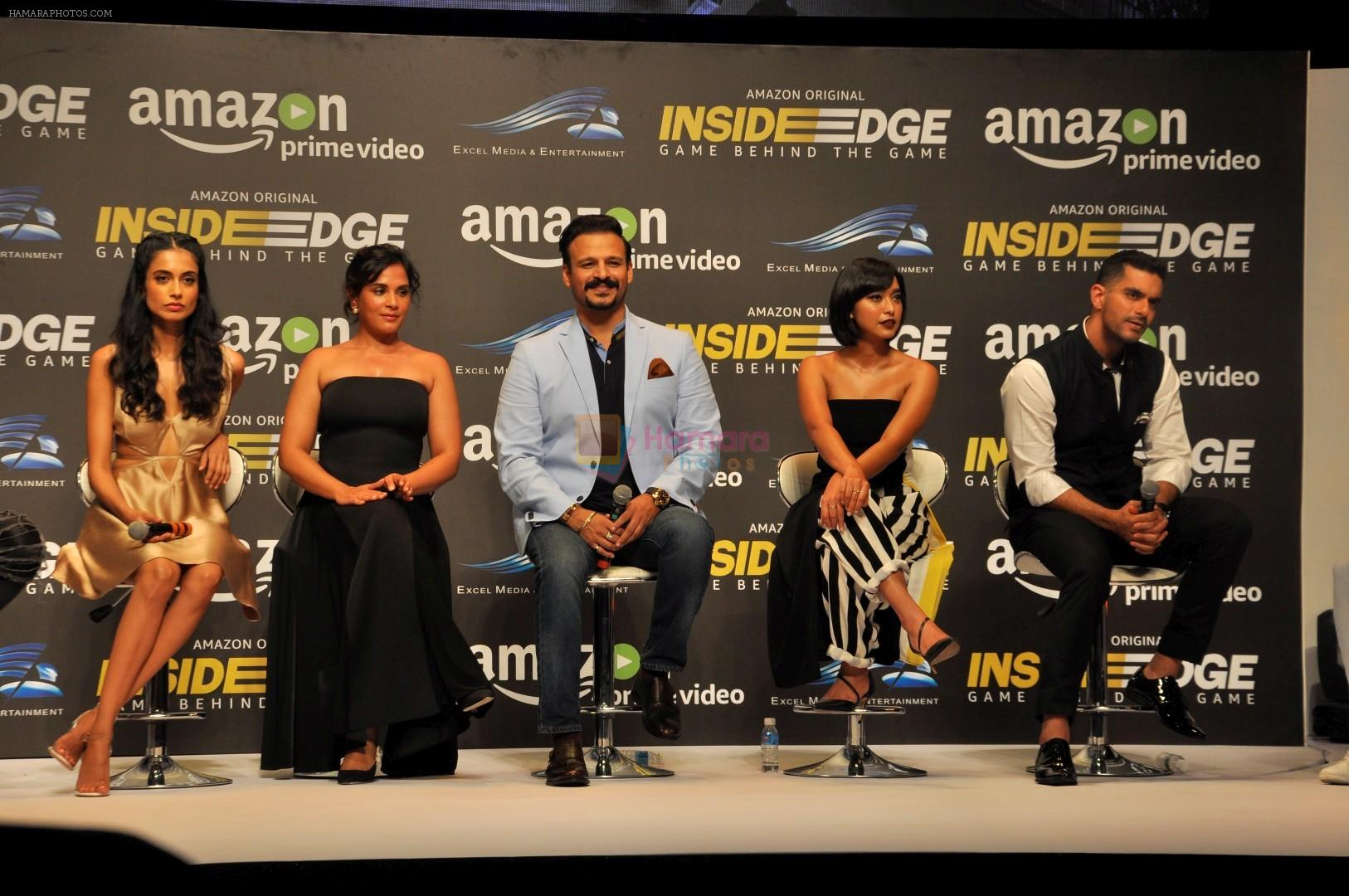 at Trailer Launch Of Indiai's 1st Amazon Prime Video Original Series Inside Edge on 16th June 2017