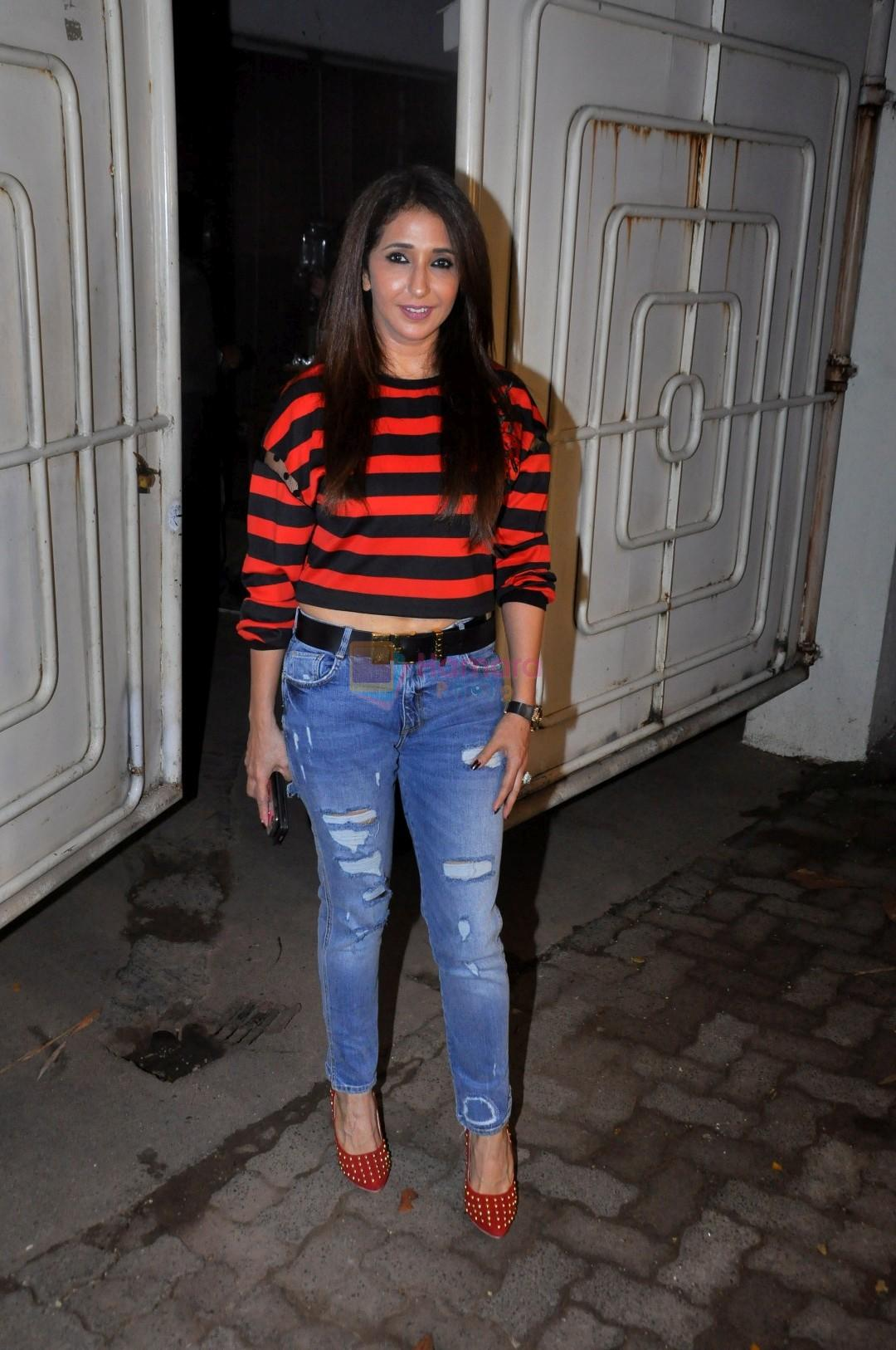 Krishika Lulla at the Special Screenig Of Film Super Singh in Mumbai on 16th June 2017