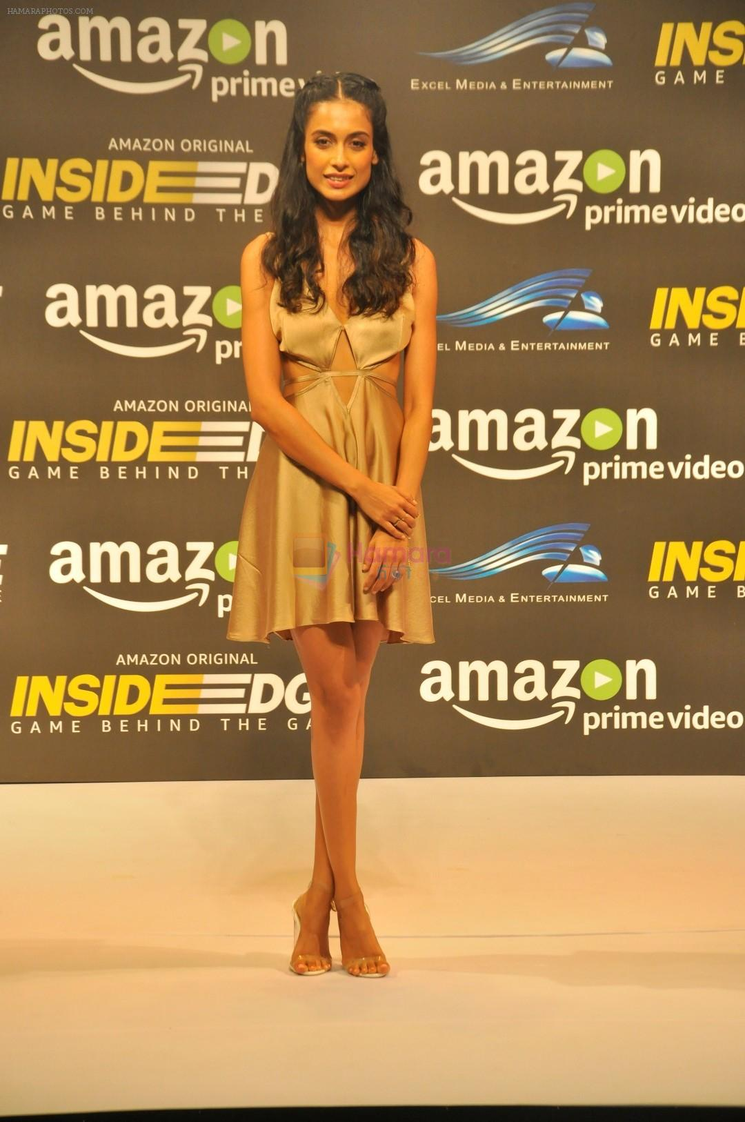 Sarah Jane Dias at Trailer Launch Of Indiai's 1st Amazon Prime Video Original Series Inside Edge on 16th June 2017