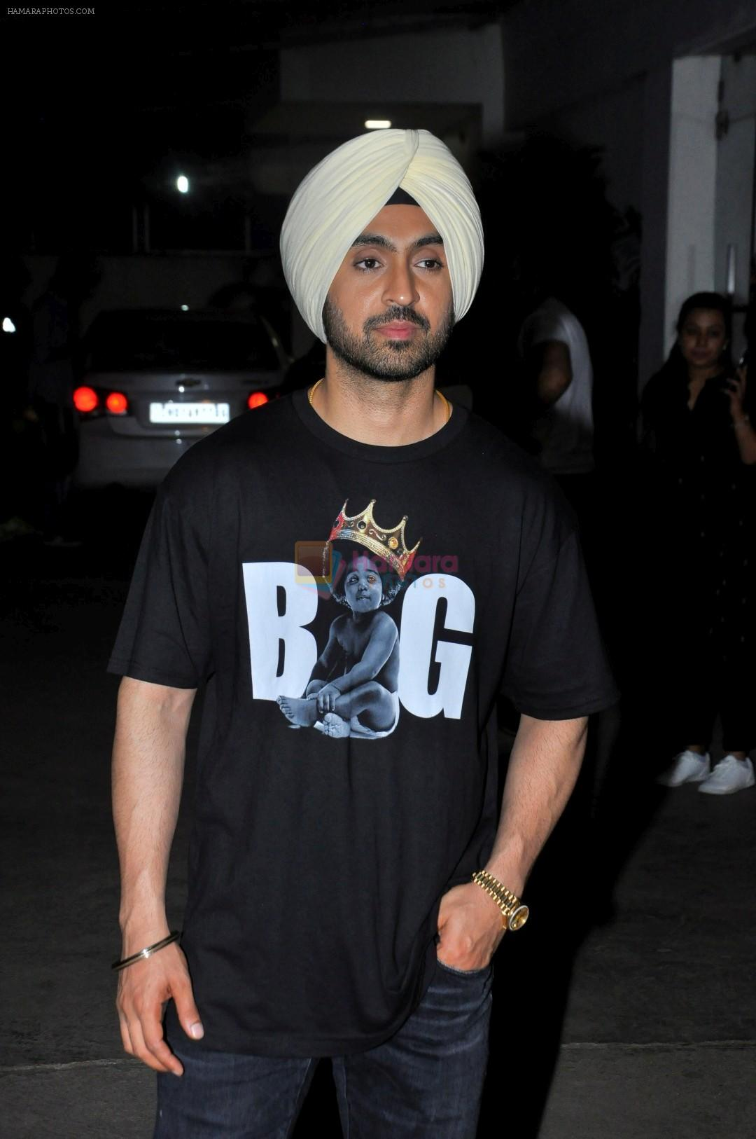 Diljit Dosanjh at the Special Screenig Of Film Super Singh in Mumbai on 16th June 2017