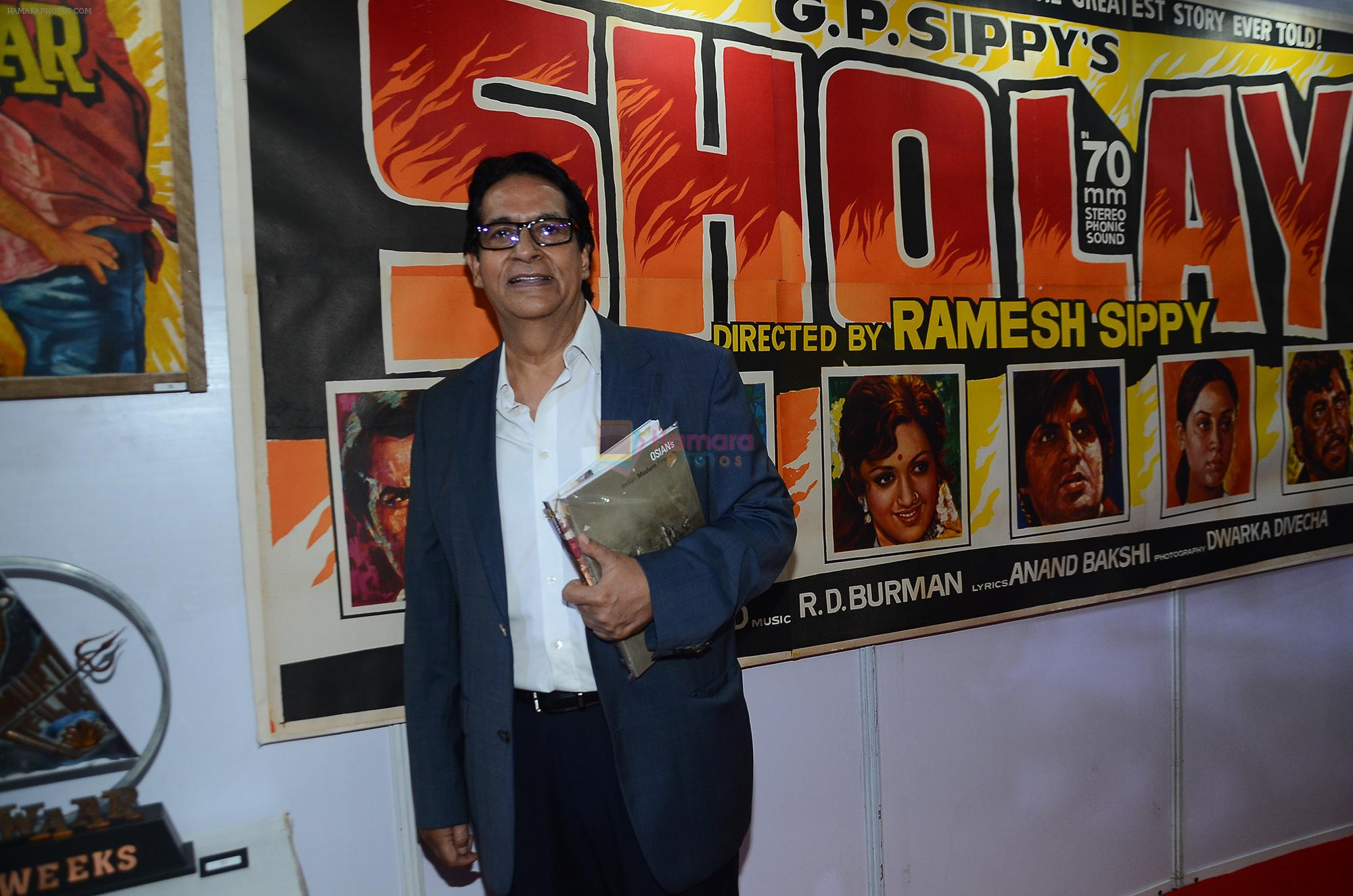 Ajitabh Bachchan at the opening preview of Osian's The Greatest Indian Show on Earth 2 - Vintage Film Memorabilia, Publicity Materials & Arts Auction