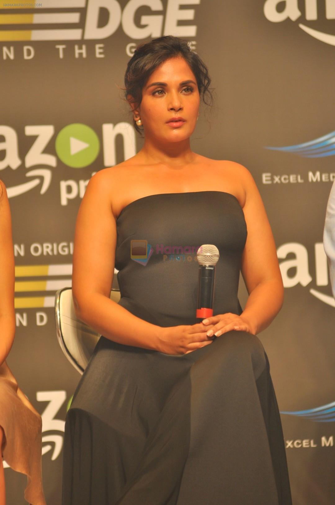 Richa Chadda at Trailer Launch Of Indiai's 1st Amazon Prime Video Original Series Inside Edge on 16th June 2017