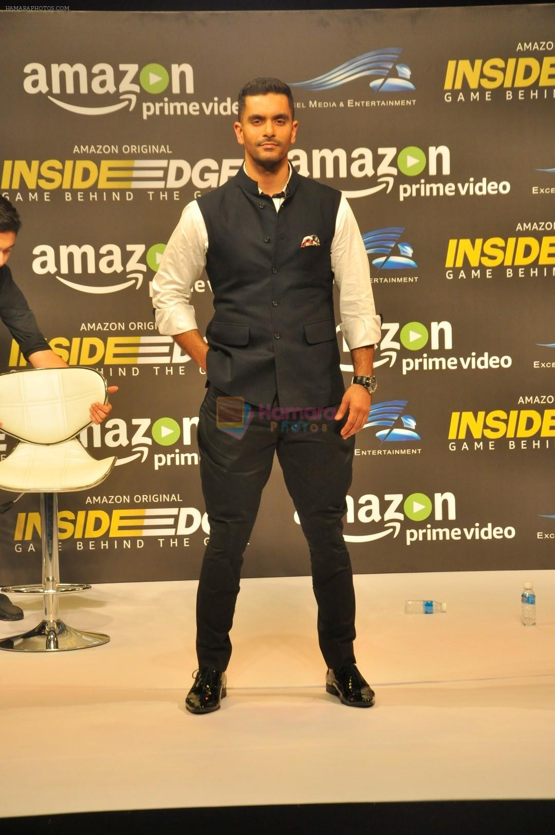 Angad Bedi at Trailer Launch Of Indiai's 1st Amazon Prime Video Original Series Inside Edge on 16th June 2017