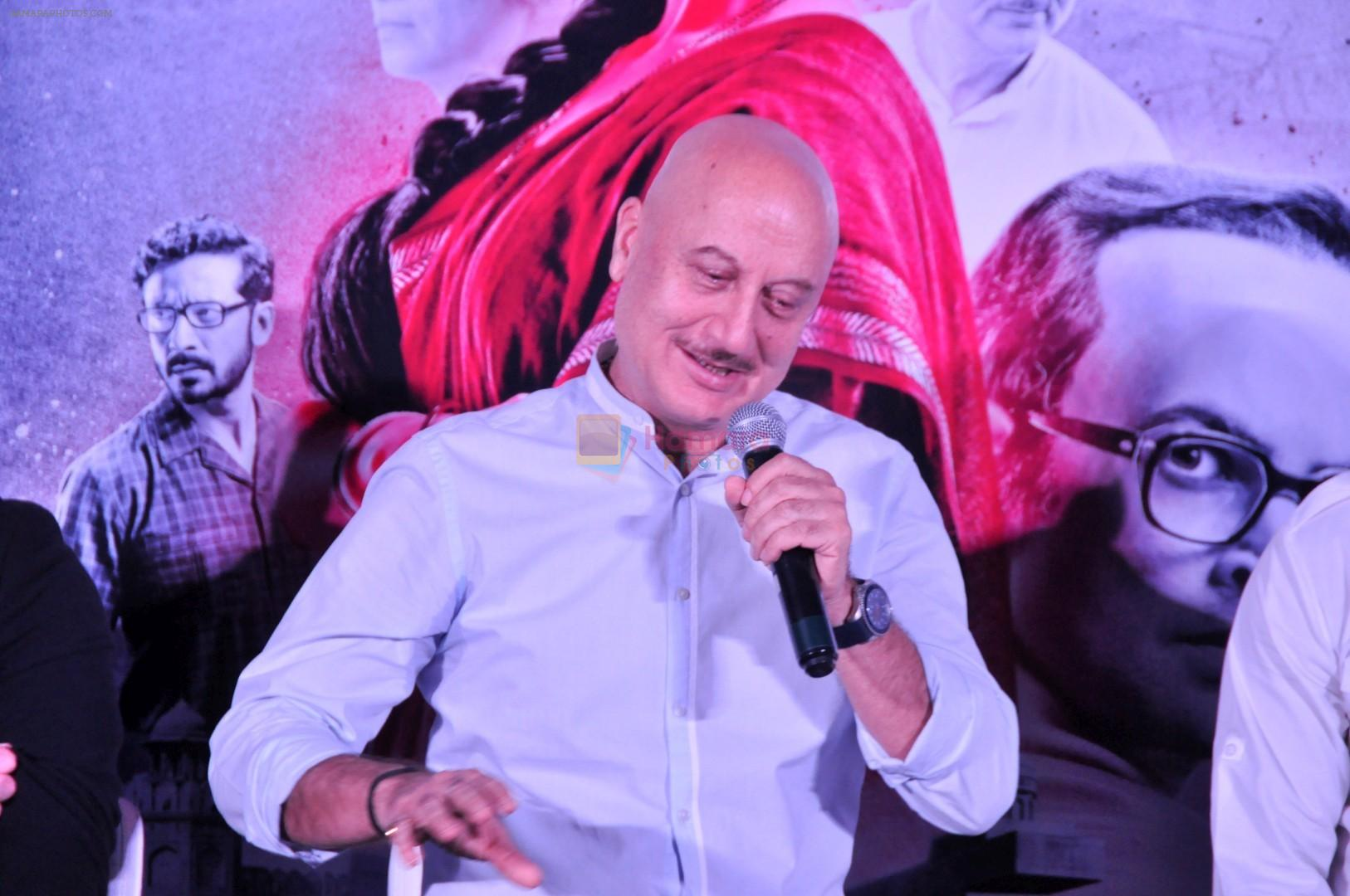 Anupam Kher at the Trailer Launch Of Film Indu Sarkar in Mumbai on 16th June 2017
