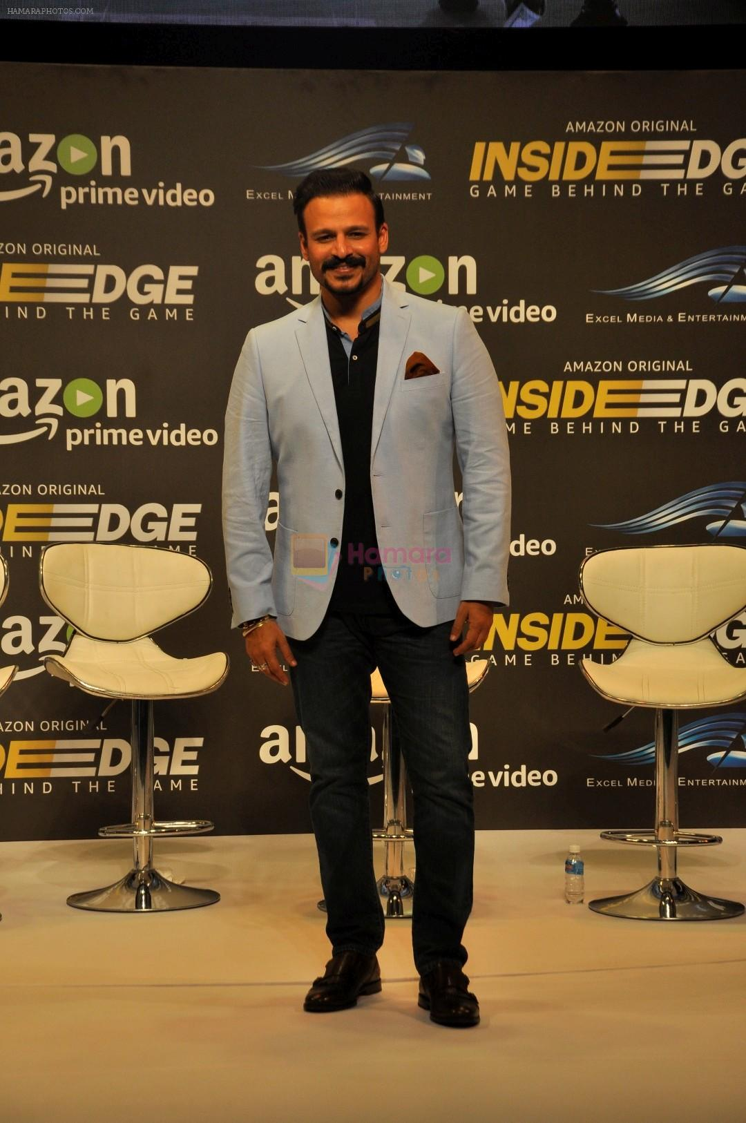 Vivek Oberoi at Trailer Launch Of Indiai's 1st Amazon Prime Video Original Series Inside Edge on 16th June 2017