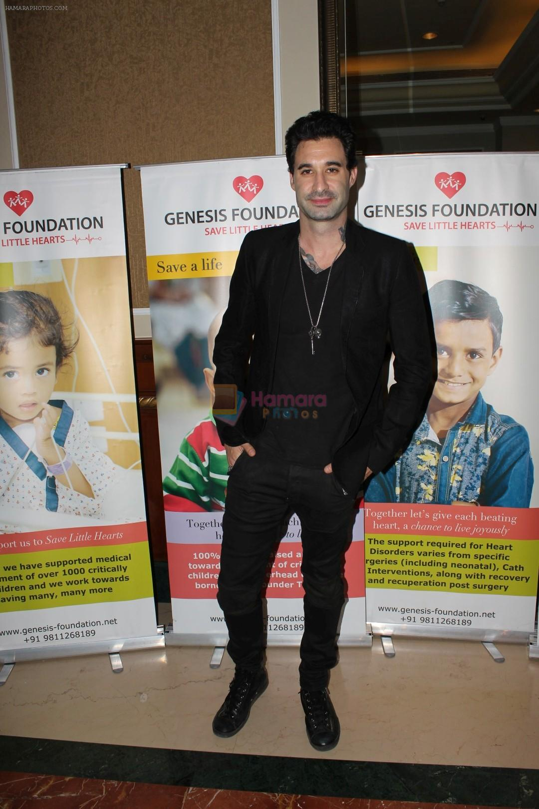Daniel Weber And CEO Of Various Company At Fund Raising Cause Of Save Little Hearts on 17th June 2017