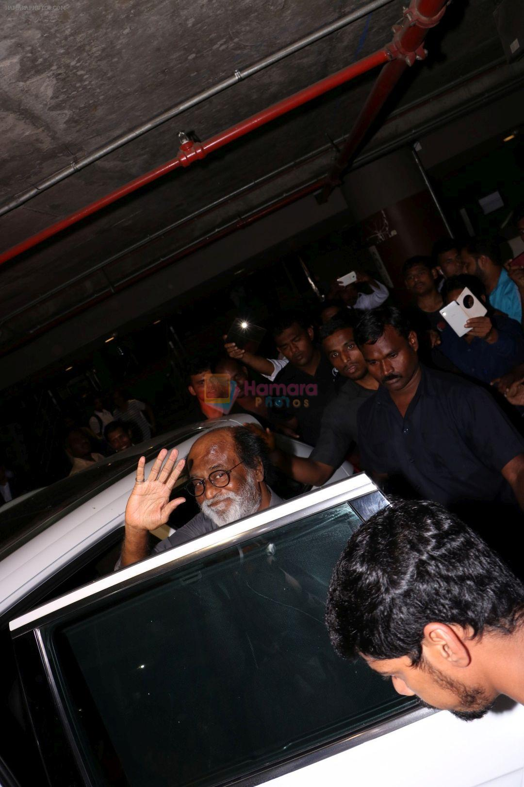 Rajinikanth at the Airport on 22nd June 2017