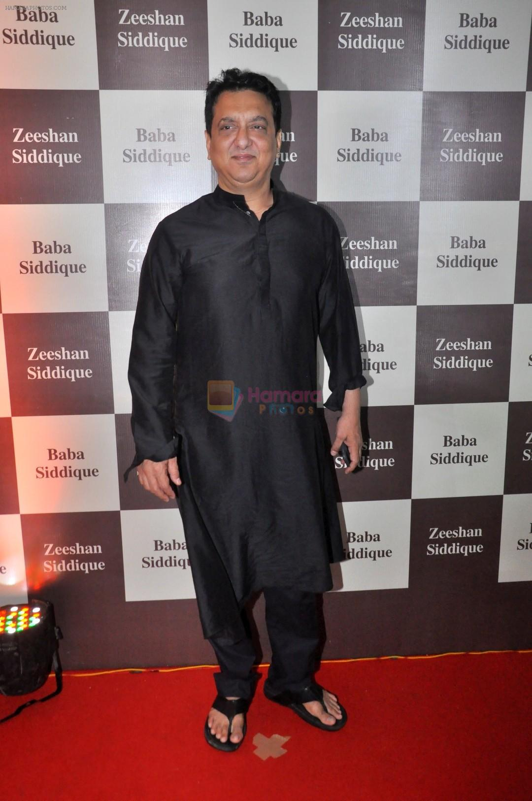 Sajid Nadiadwala at Baba Siddique Iftar Party in Mumbai on 24th June 2017