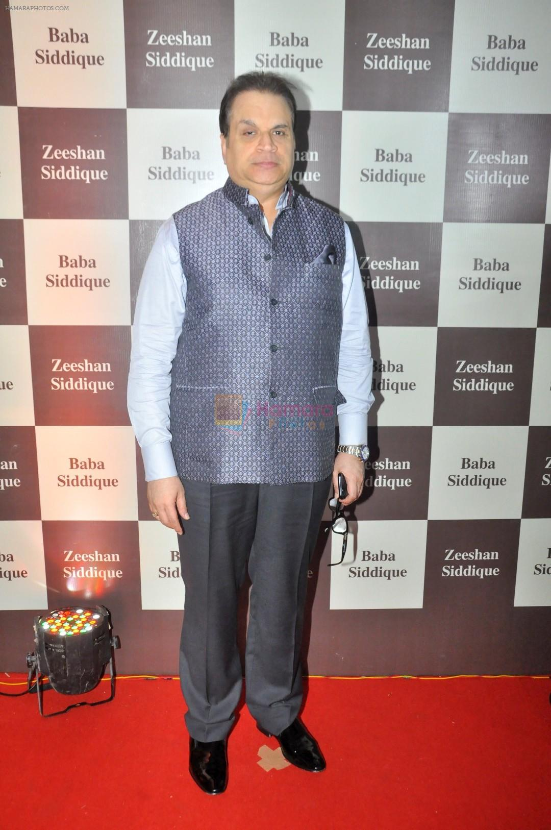 Ramesh Taurani at Baba Siddique Iftar Party in Mumbai on 24th June 2017