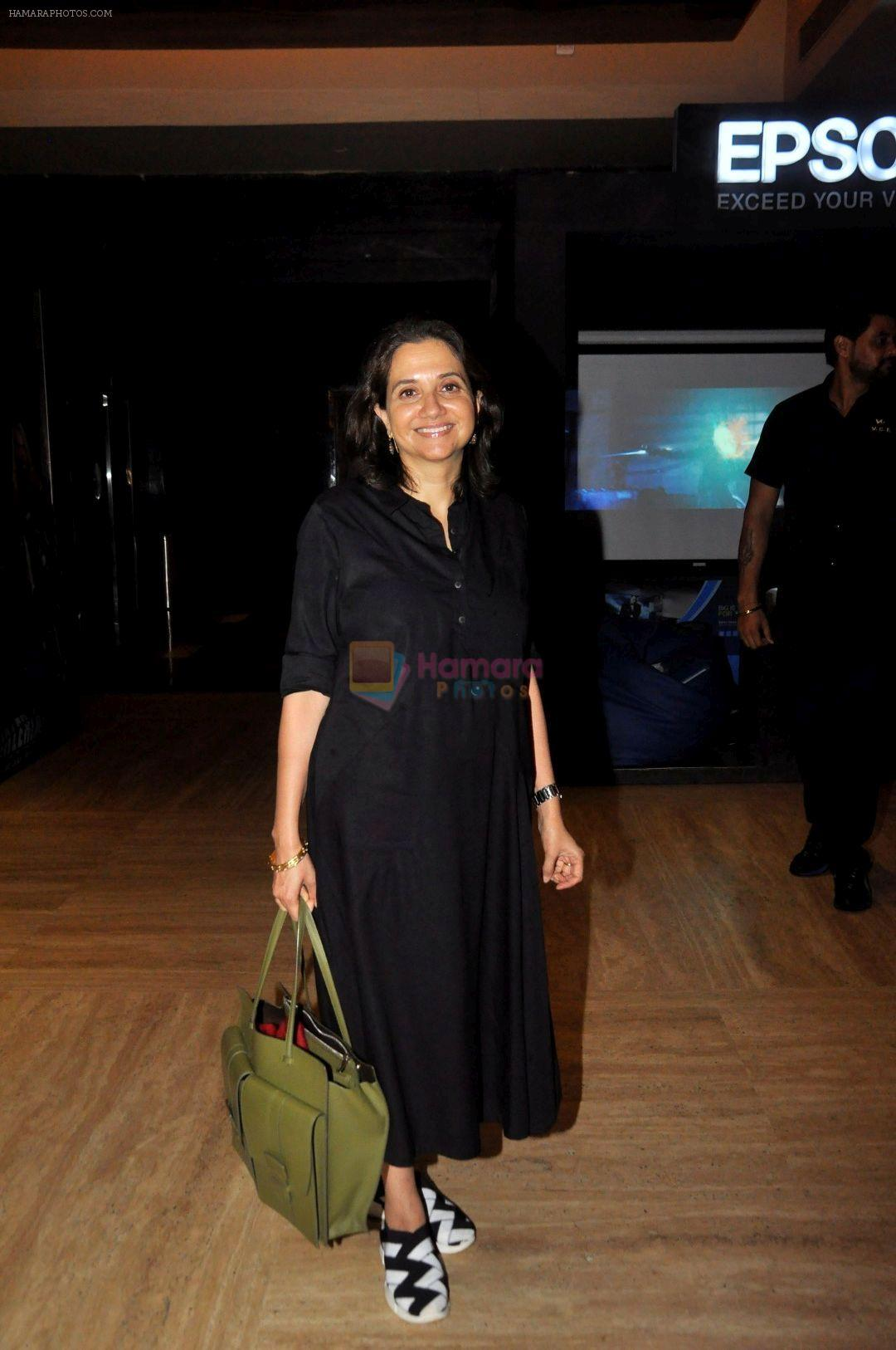 Anupama Chopra at Screening Of Film The Big Sick on 28th June 2017