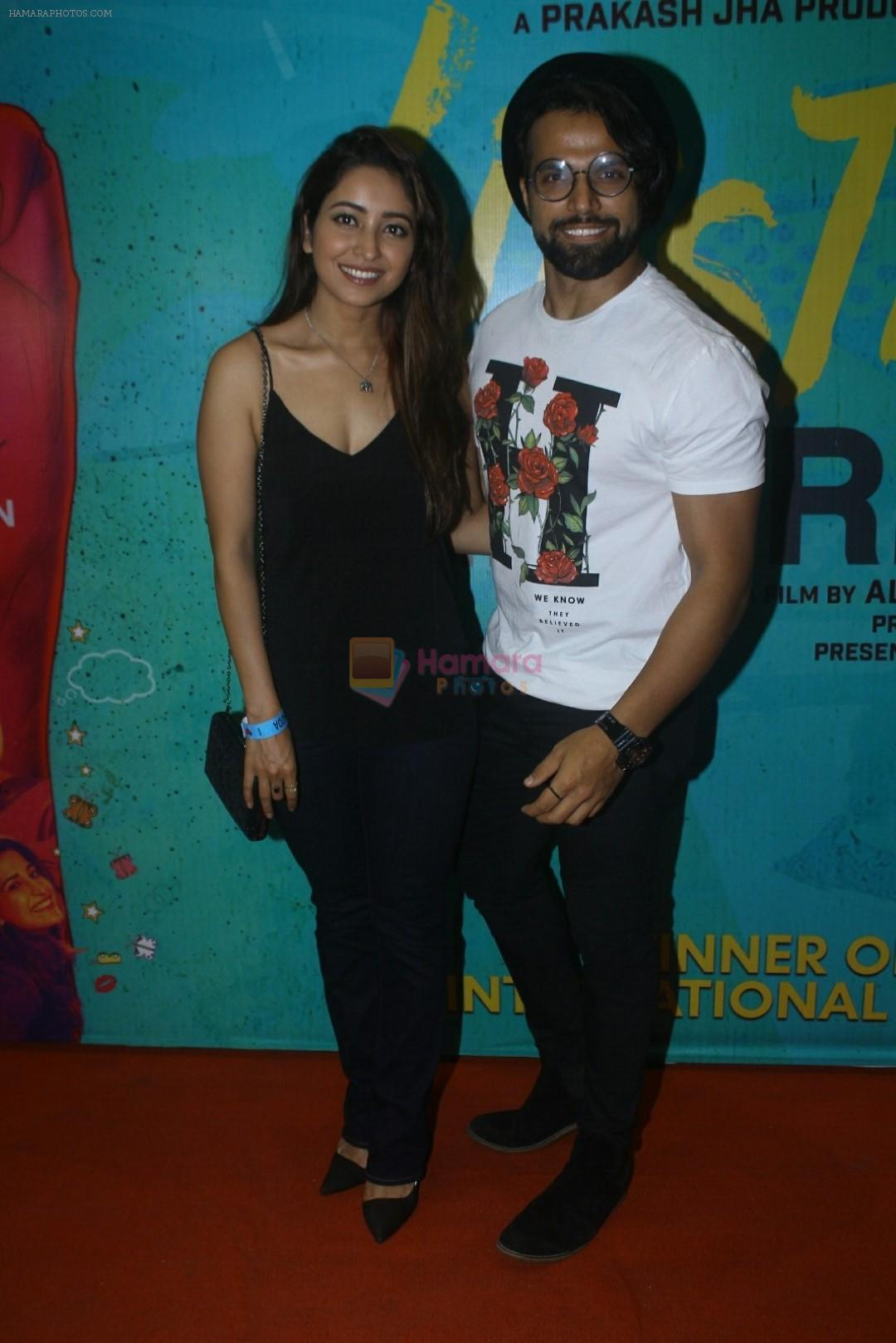 Asha Negi, Ritwik Dhanjani at the The Red Carpet along With Success Party Of Film Lipstick Under My Burkha on 28th July 2017