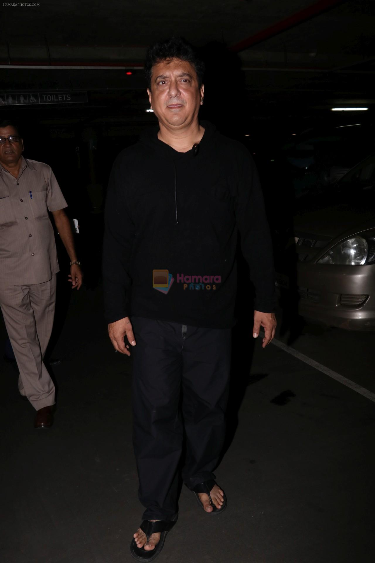 Sajid Nadiadwala spotted at airport on 29th July 2017