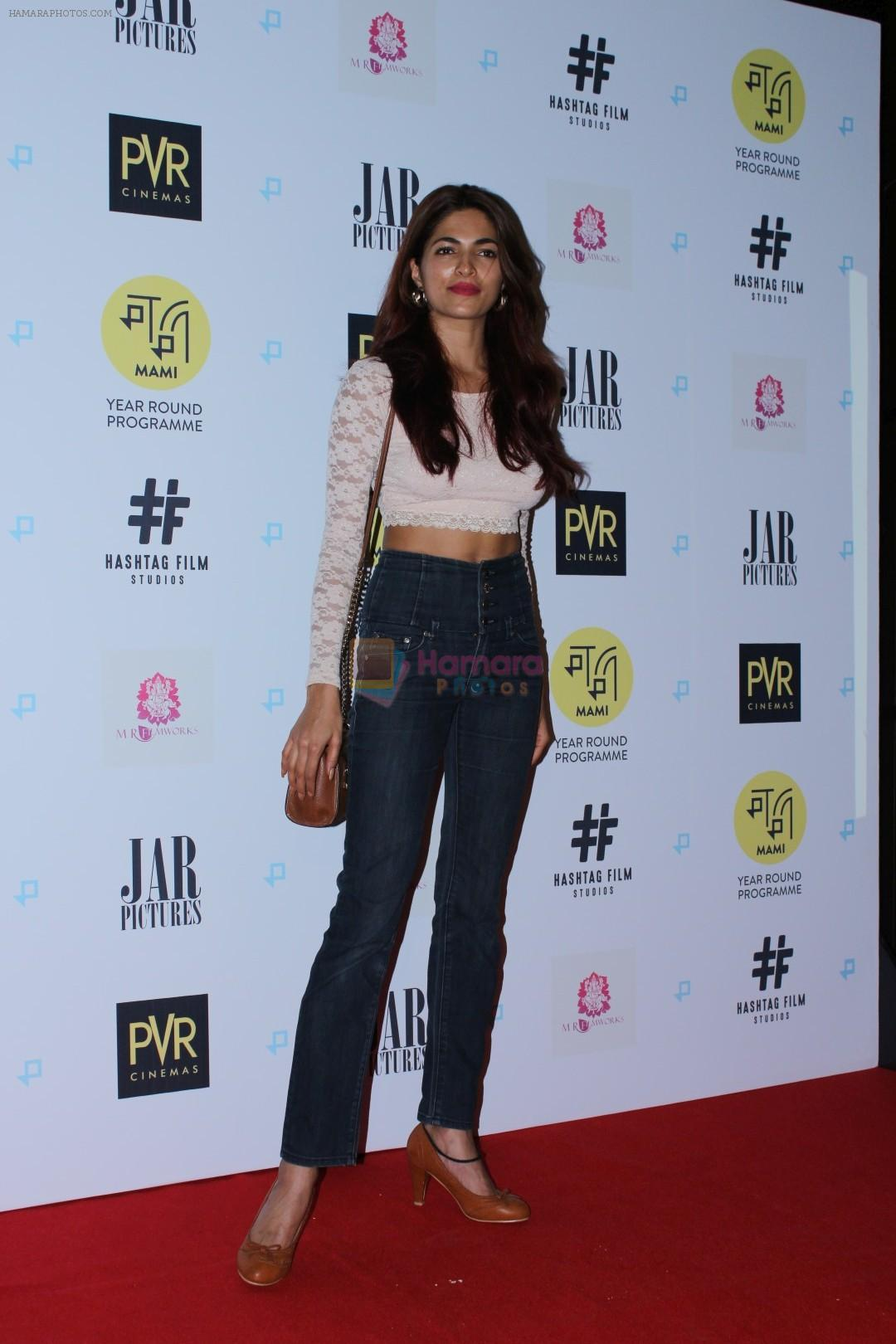 Parvathy Omanakuttan at Gurgaon Film Premiere Hosted By MAMI Film Club on 1st Aug 2017