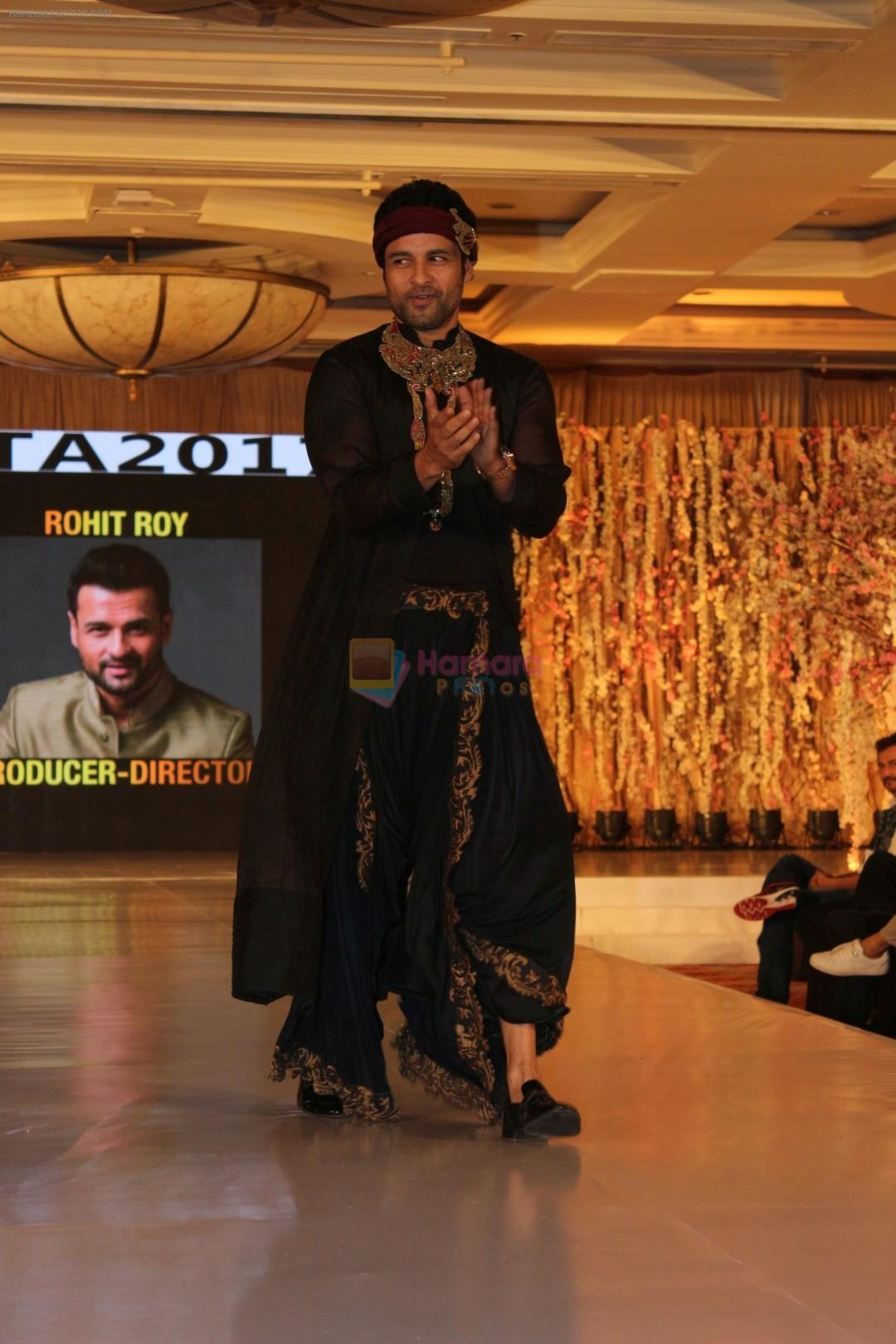Rohit Roy at ITA Creators Walk Prelude To ITA Awards 2017 on 14th Aug 2017