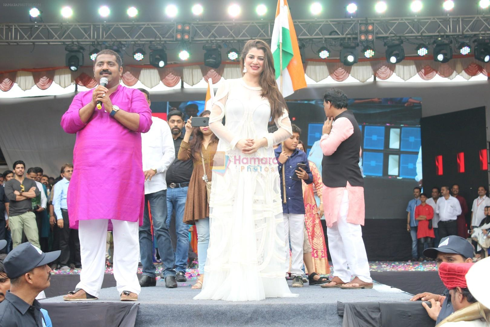 Kainaat Arora at the Song Launch Of Film Daddy In Dahi Handi Celebration on 15th Aug 2017