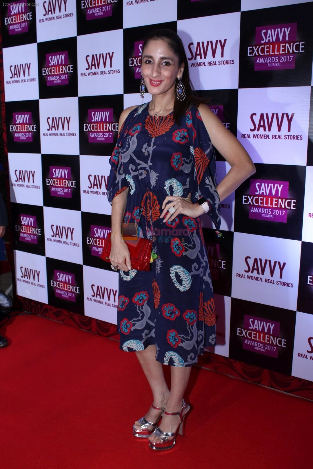 Farah Ali Khan At SAVVY Excellence Award on 21st Aug 2017