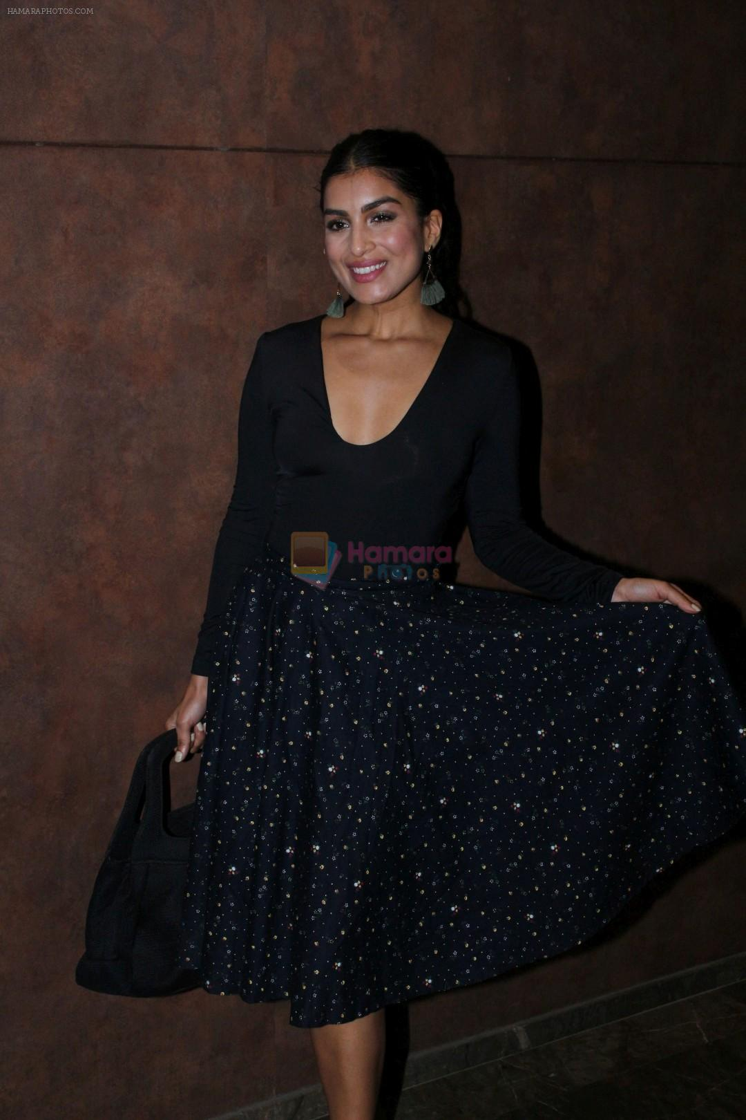 Pallavi Sharda at the Special Screening Of Film Shubh Mangal Savdhan on 31st Aug 2017