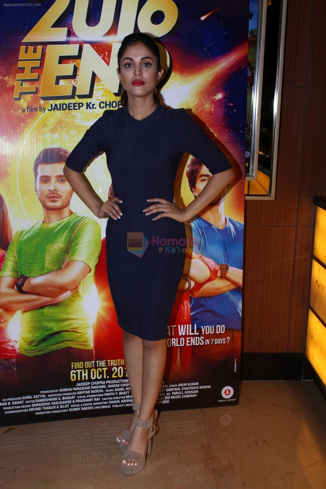 Priya Banerjee at the Song Launch Of Film 2016 The End on 6th Sept 2017