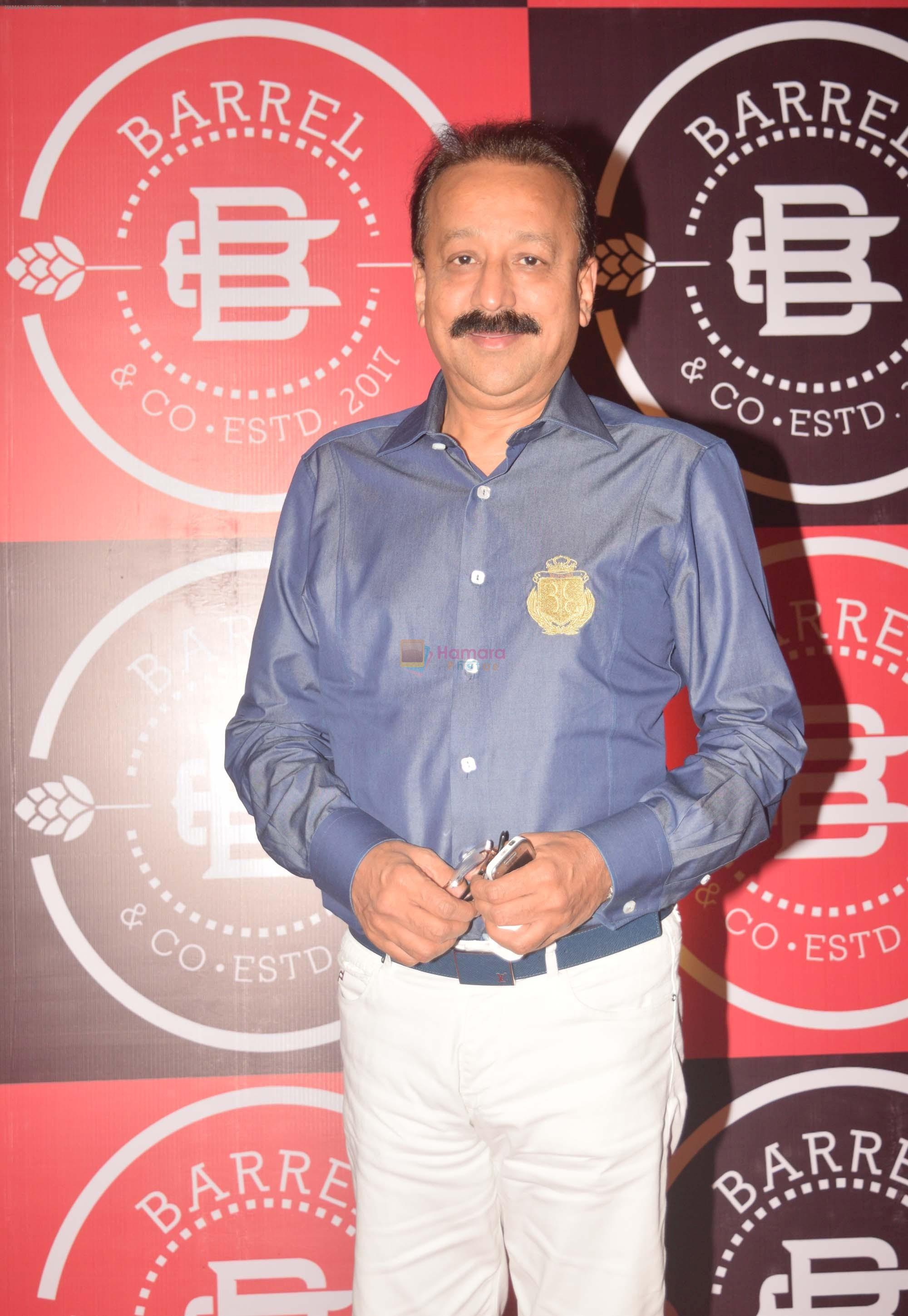 Baba Siddiqui at the Launch Party of Barrel & Co on 7th Sept 2017