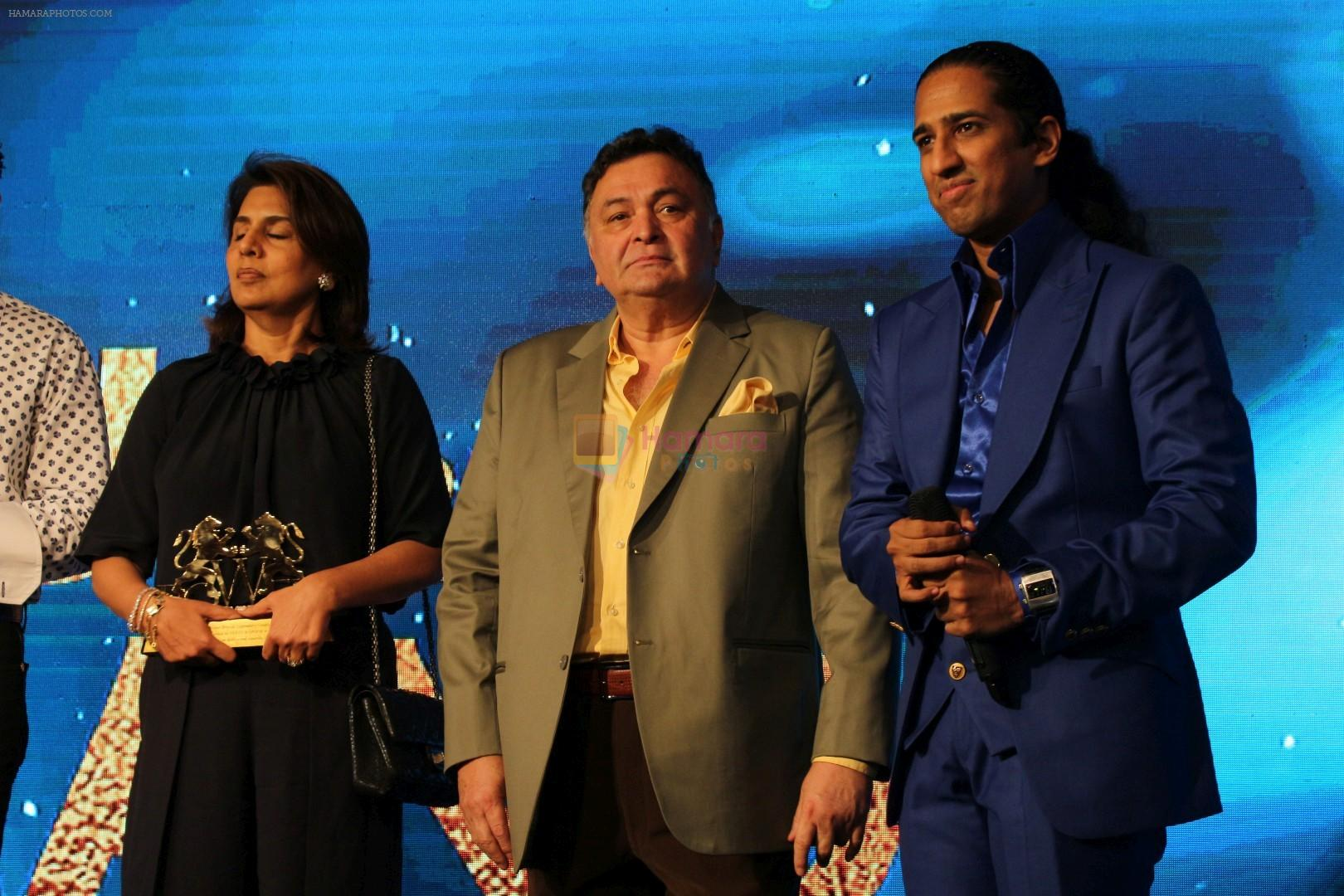Rishi Kapoor, Nitu Singh Grace POWERBRAND Awards on 11th Sept 2017
