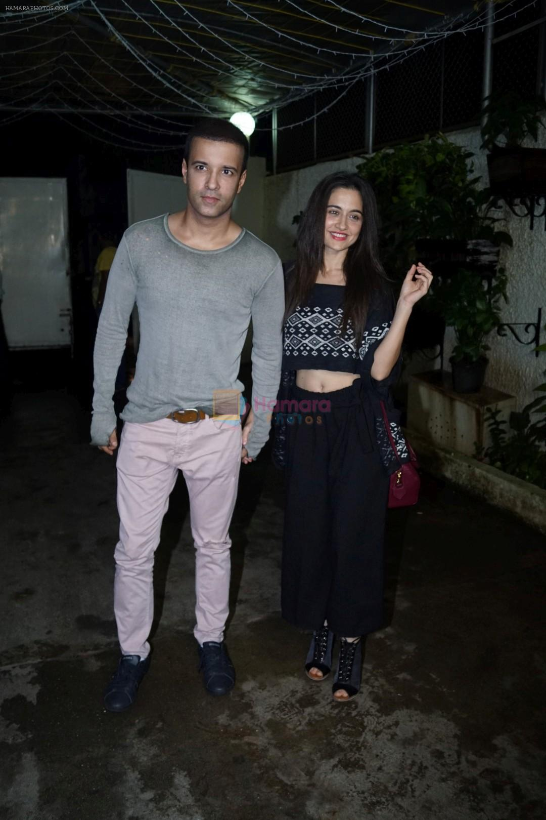 Aamir Ali, Sanjeeda Sheikh at the Special Screening of Film Simran on 14th Sept 2017