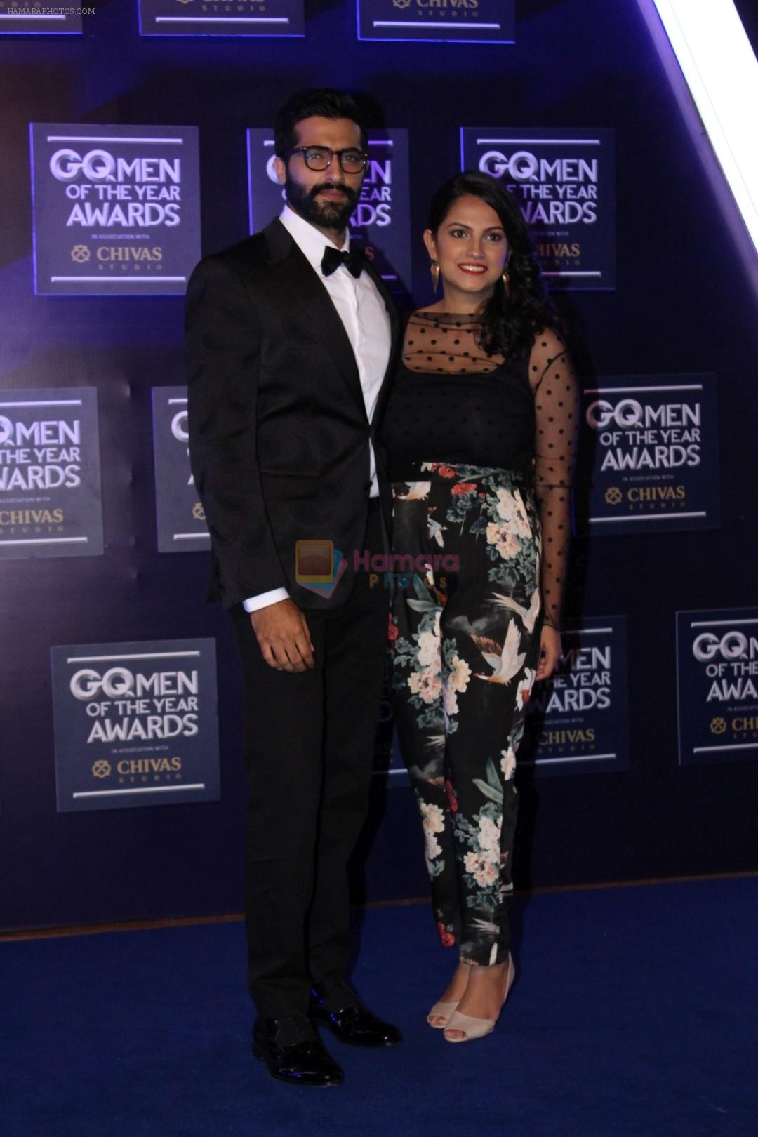 Akshay Oberoi At Red Carpet Of GQ Men Of The Year Awards 2017 on 22nd Sept 2017