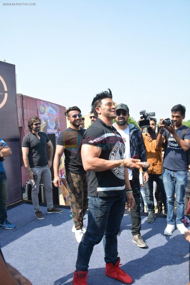 570f48372c Sahil Khan Came to Conduct audition Of their New Fitness Reality Show on 26th  Sept 2017