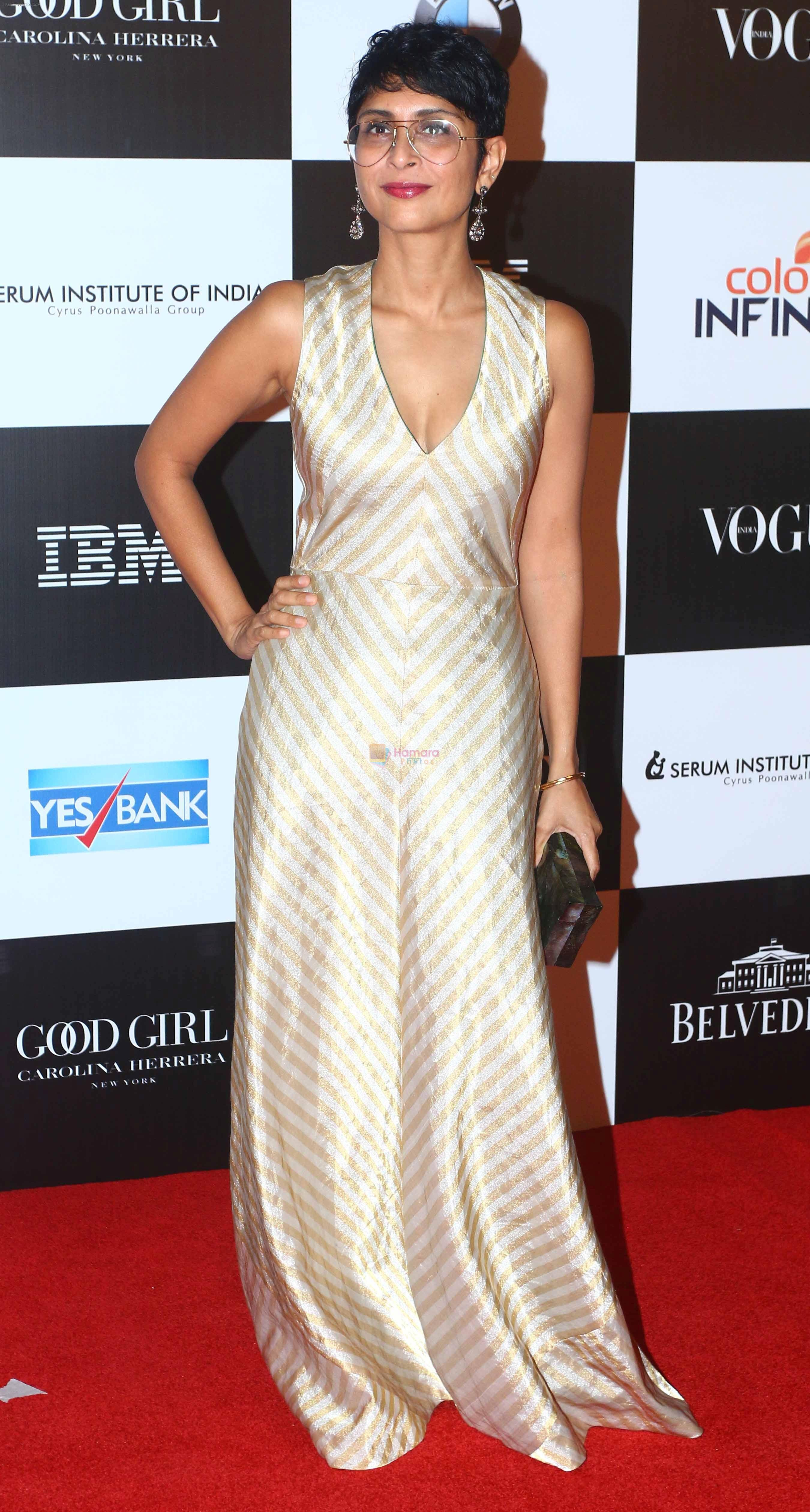 Kiran Rao at the Red Carpet Of Vogue Women Of The Year 2017 on 25th Sept 2017