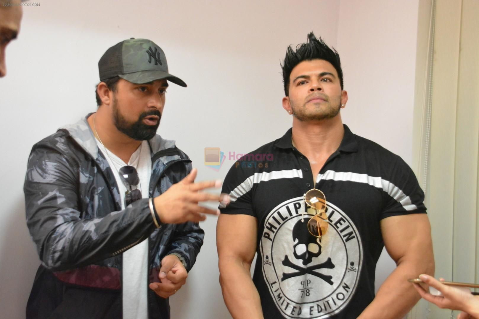Rannvijay Singh, Sahil Khan Came to Conduct audition Of their New Fitness Reality Show on 26th Sept 2017