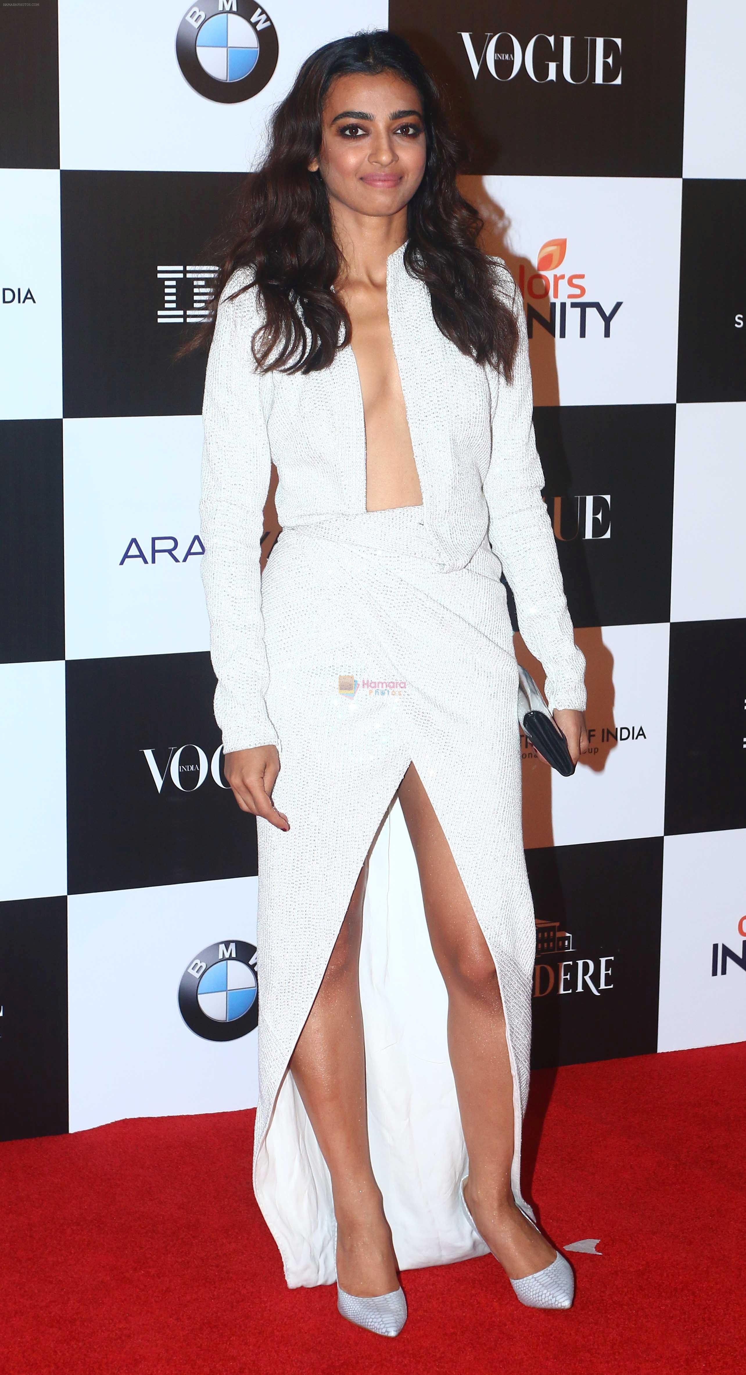 Radhika Apte at the Red Carpet Of Vogue Women Of The Year 2017 on 25th Sept 2017