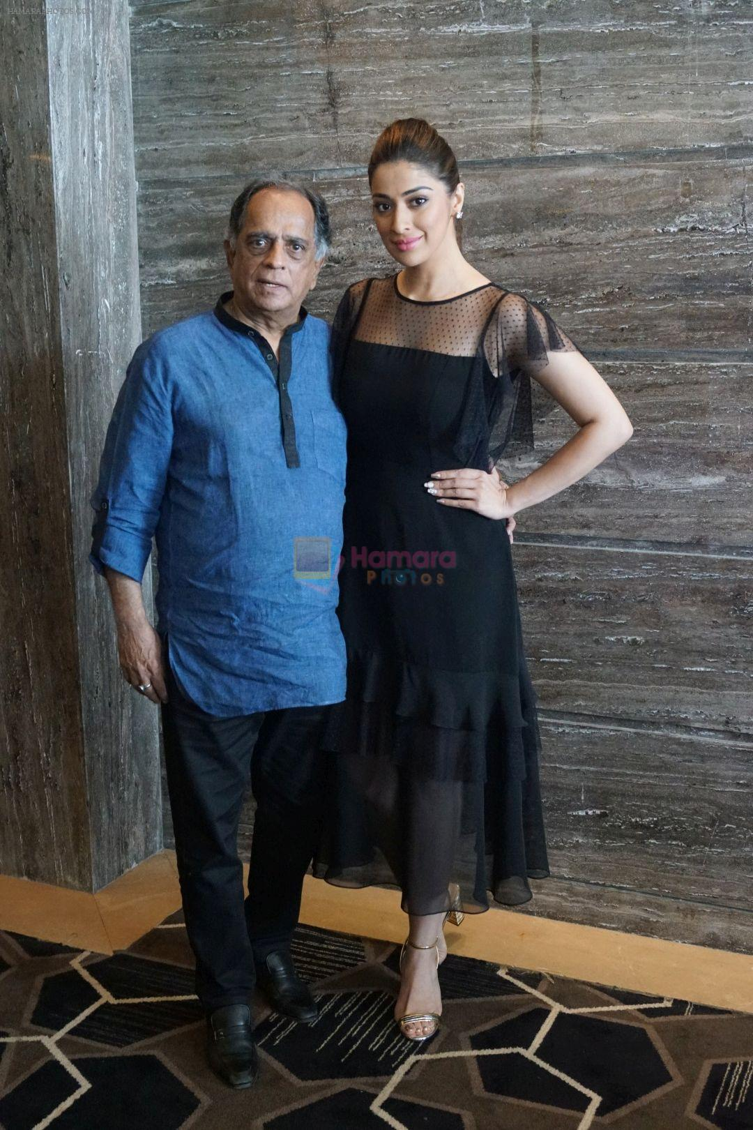 Pahlaj Nihalani, Raai Laxmi Spotted During Promotional Interview For Film Julie 2 on 27th Sept 2017