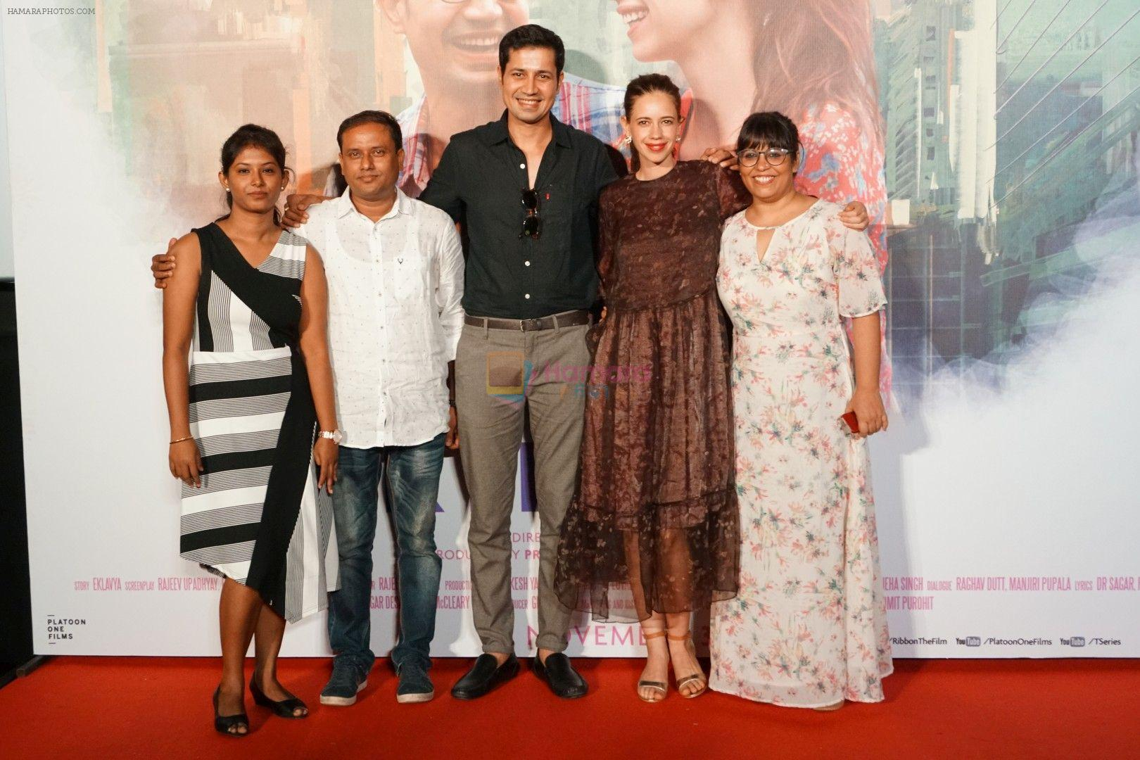 kalki koechlin, sumeet Vyas, Rakhee Sandilya at the trailer Launch Of Film Ribbon on 3rd Oct 2017