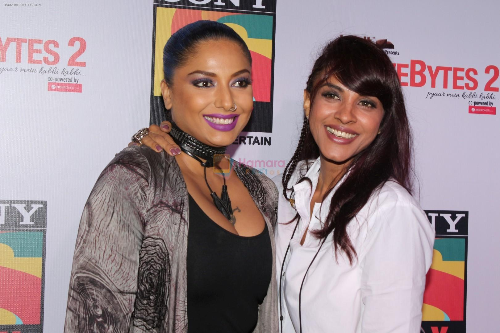 Diandra Soares, Manasi Scott At The Launch Of #Lovebytes Season 2 on 10th Oct 2017