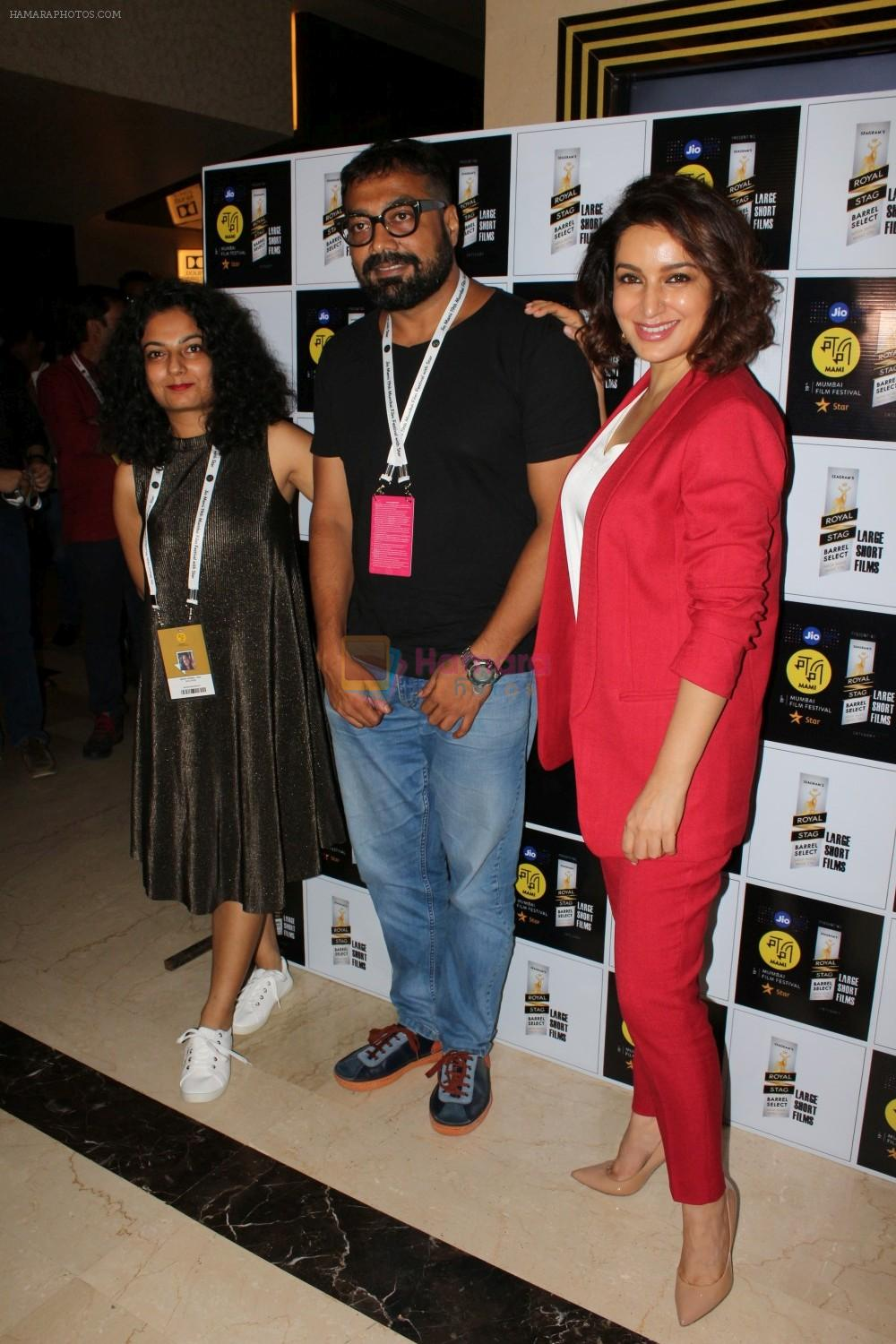 Tisca Chopra, Anurag Kashyap At Royal Stag Barrel Large Short Films on 13th Oct 2017