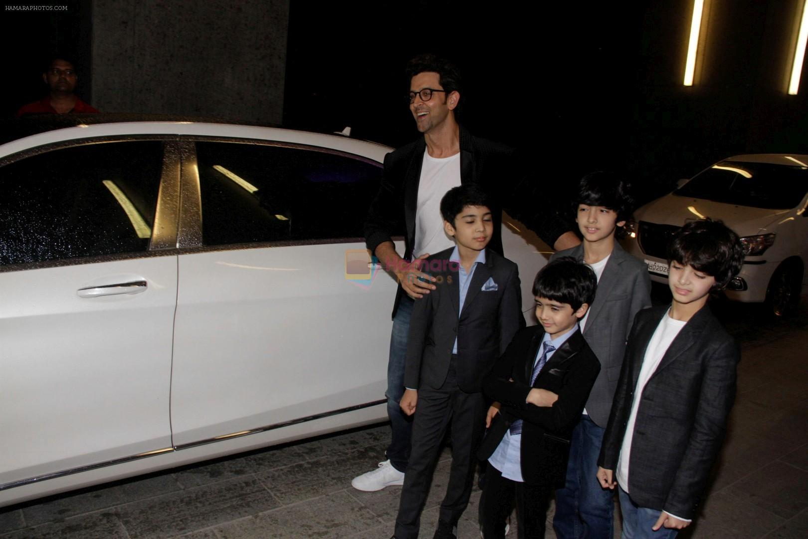 Hrithik Roshan at Exclusive Preview Of Rustomjee Elements on 14th Oct 2017