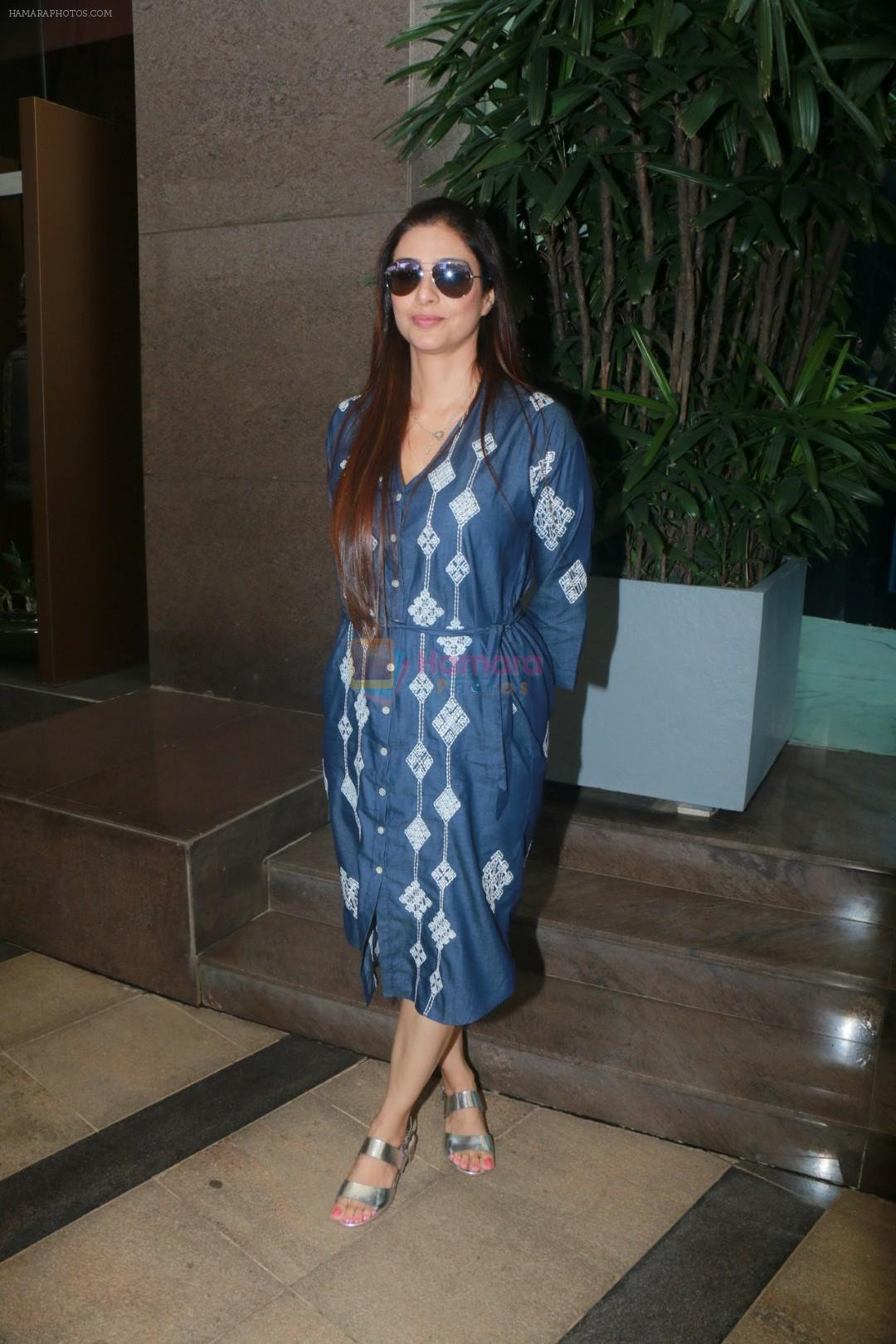 Tabu with Golmaal Again Team Spotted At Yauatcha Restaurant on 23rd Oct 2017