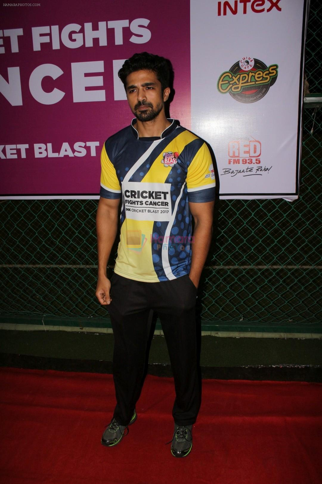 Saqib Saleem at Ink Cricket Blast 2017 on 21st Oct 2017