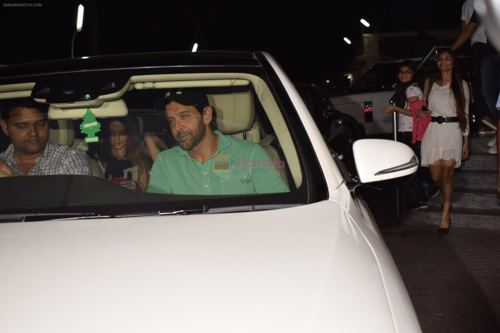 Hritik Roshan & family spotted at pvr juhu on 29th Oct 2017