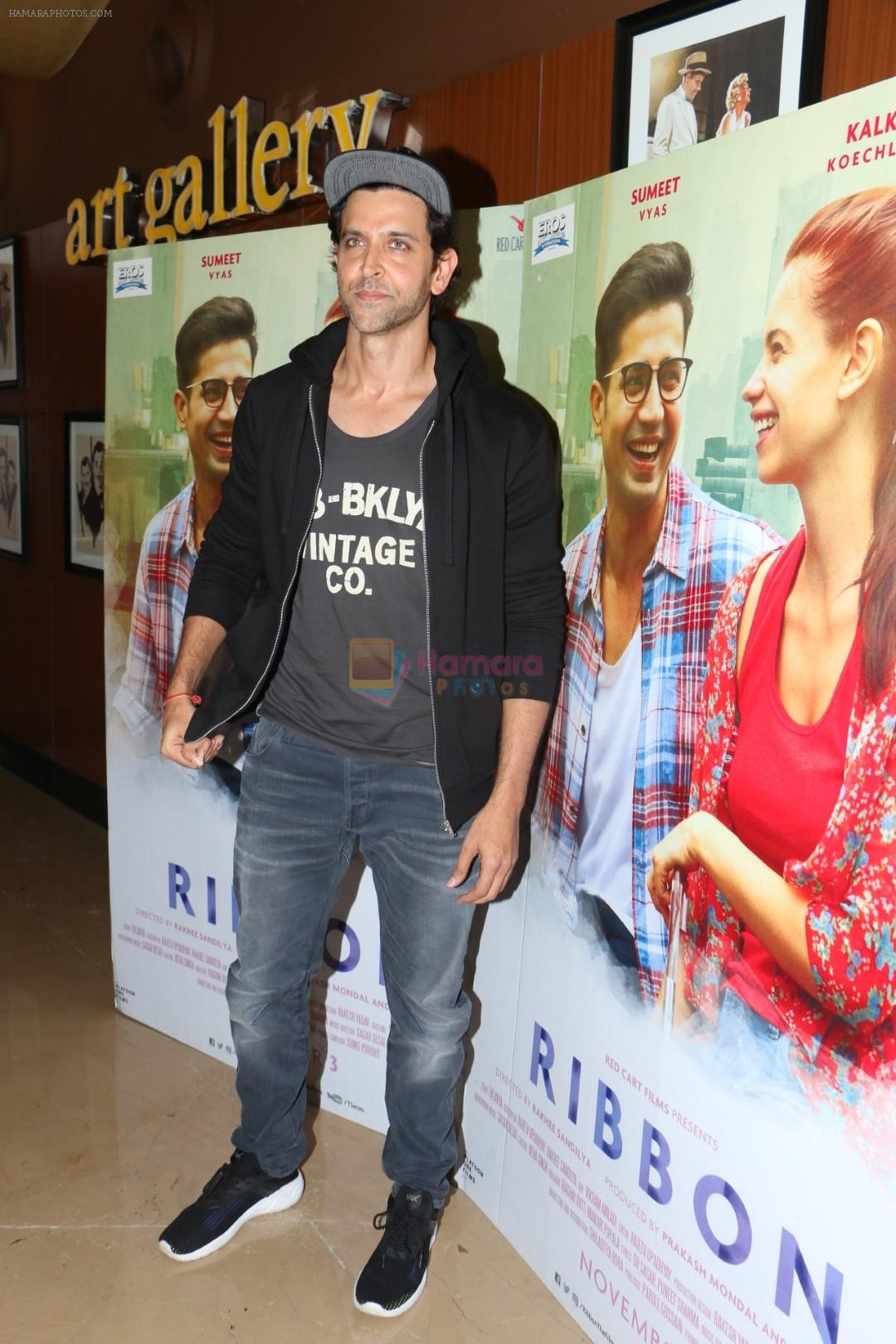 Hrithik Roshan At Special Screening Of Film Ribbon on 2nd Nov 2017