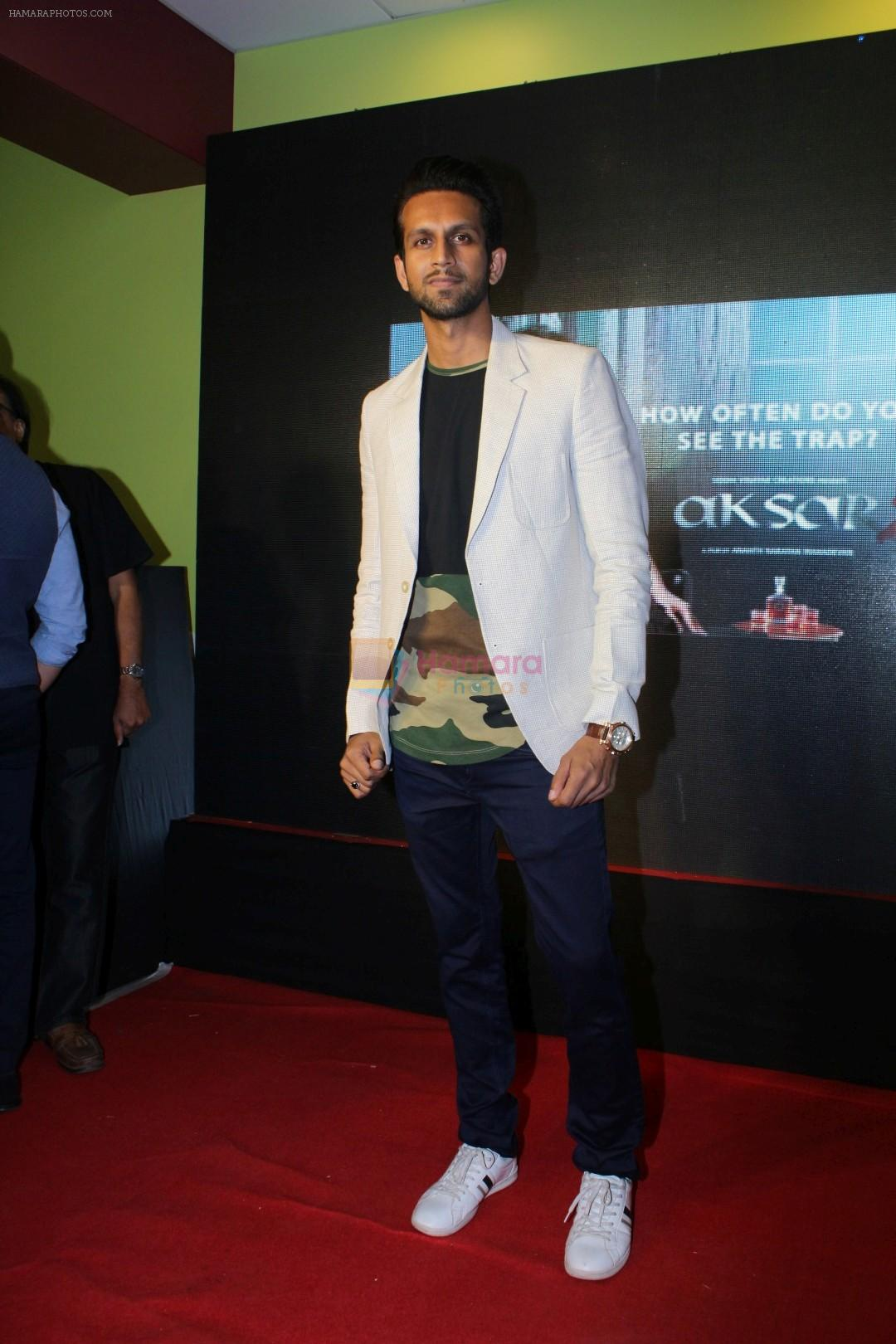 Mohit Madaan at the Second Trailer Launch Of Aksar 2 on 5th Nov 2017