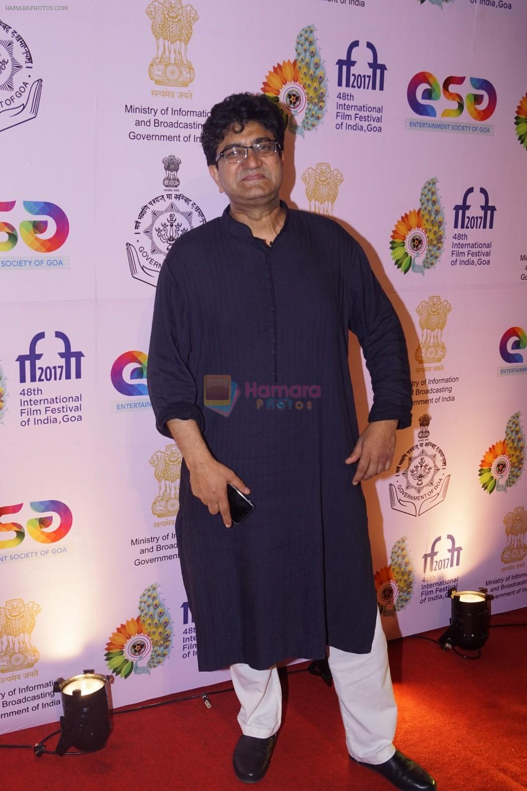 Parsoon Joshi at IFFI 2017 Beyond The Clouds Screening on 20th Nov 2017