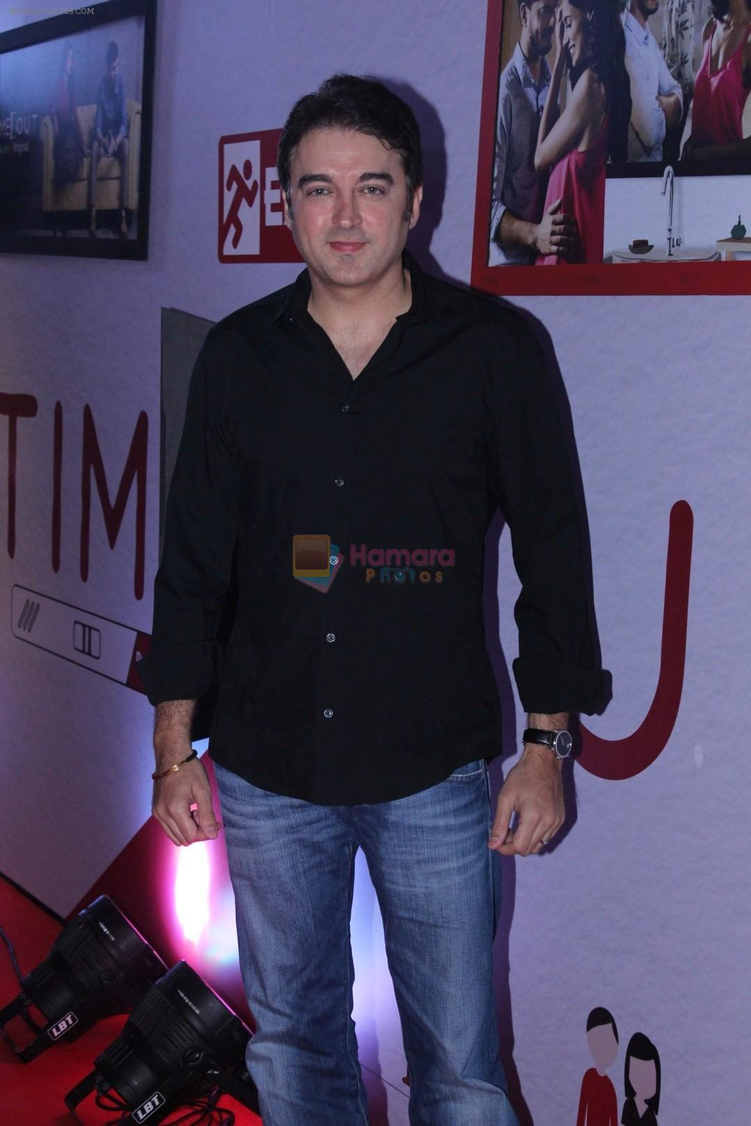 Jugal Hansraj at The Special Screening Of Web Series Time Out on 27th Nov 2017