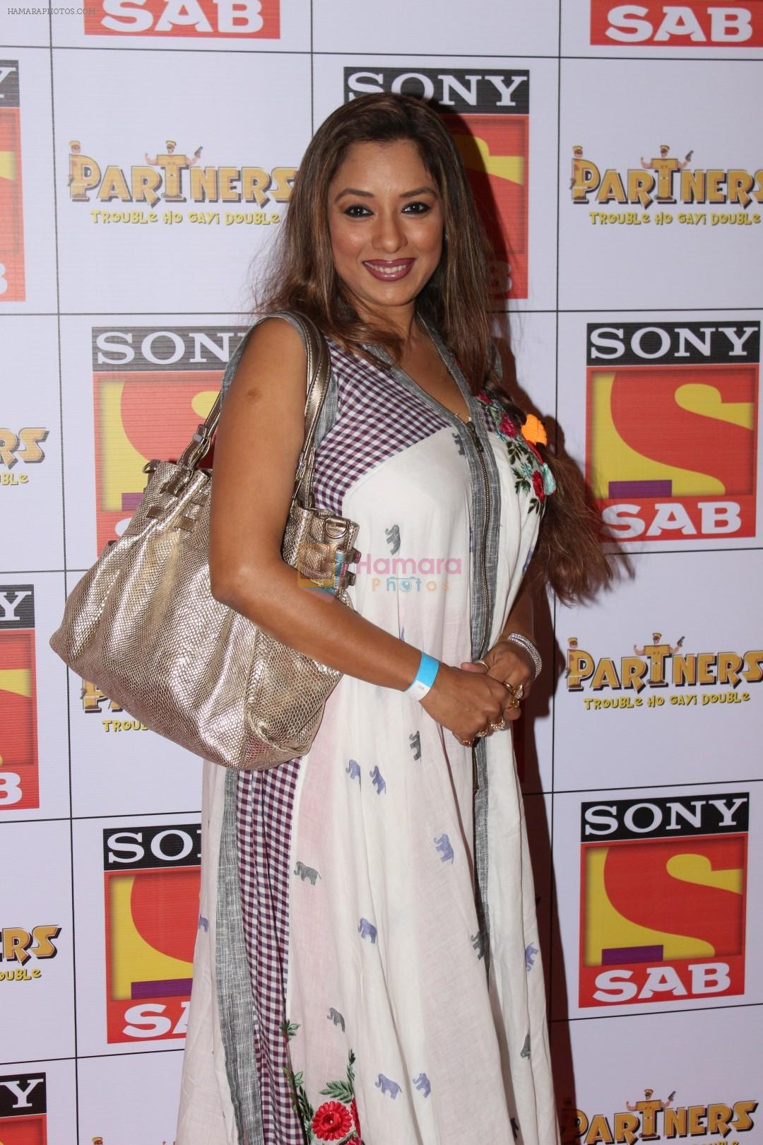 Rupali Ganguly at the Red Carpet Of SAB TV New Show PARTNERS on 28th