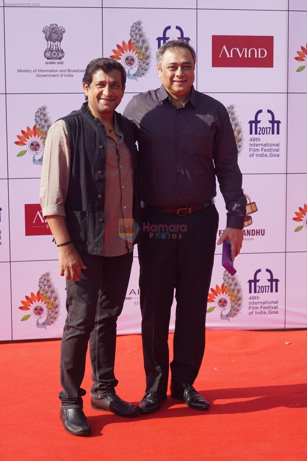 Sachin Khedekar At IFFI 2017 Closing Ceremony in Mumbai on 28th Nov 2017