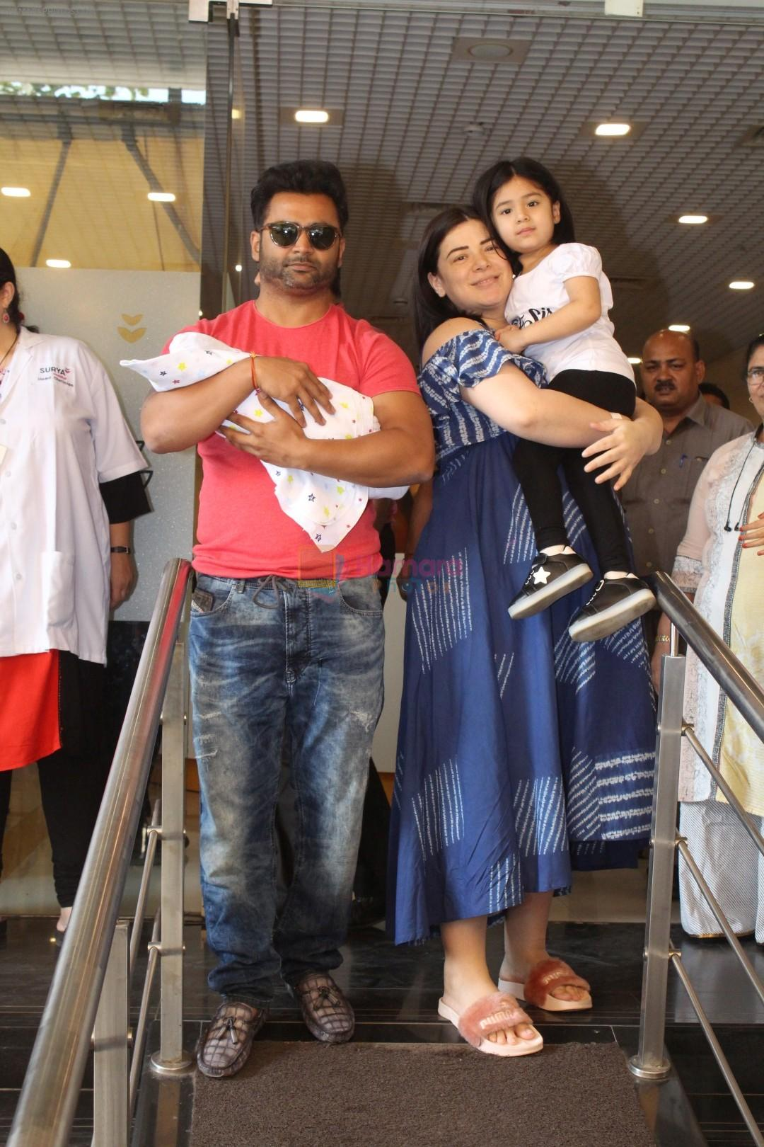 Sachiin J Joshi & His Wife Urvashi Sharma Blessed With A Baby Boy on 30th Nov 2017