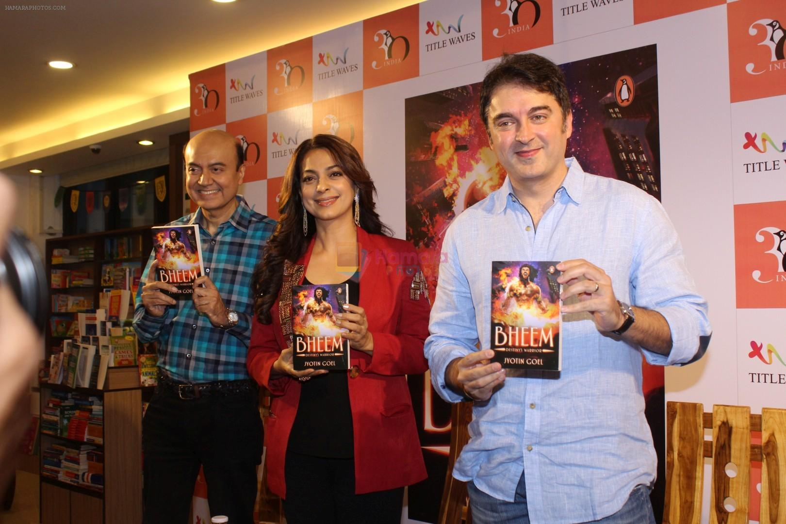 Juhi Chawla, Jugal Hansraj at the Launch Of Book Bheem on 30th Nov 2017