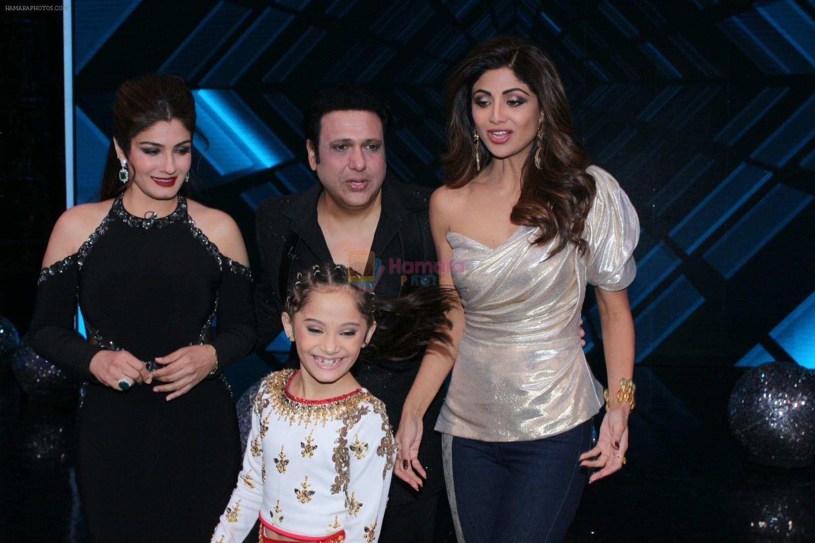 Govinda raveena tandon shilpa shetty on the sets of super dancer govinda raveena tandon shilpa shetty on the sets of super dancer chapter 2 on 4th dec 2017 altavistaventures Choice Image