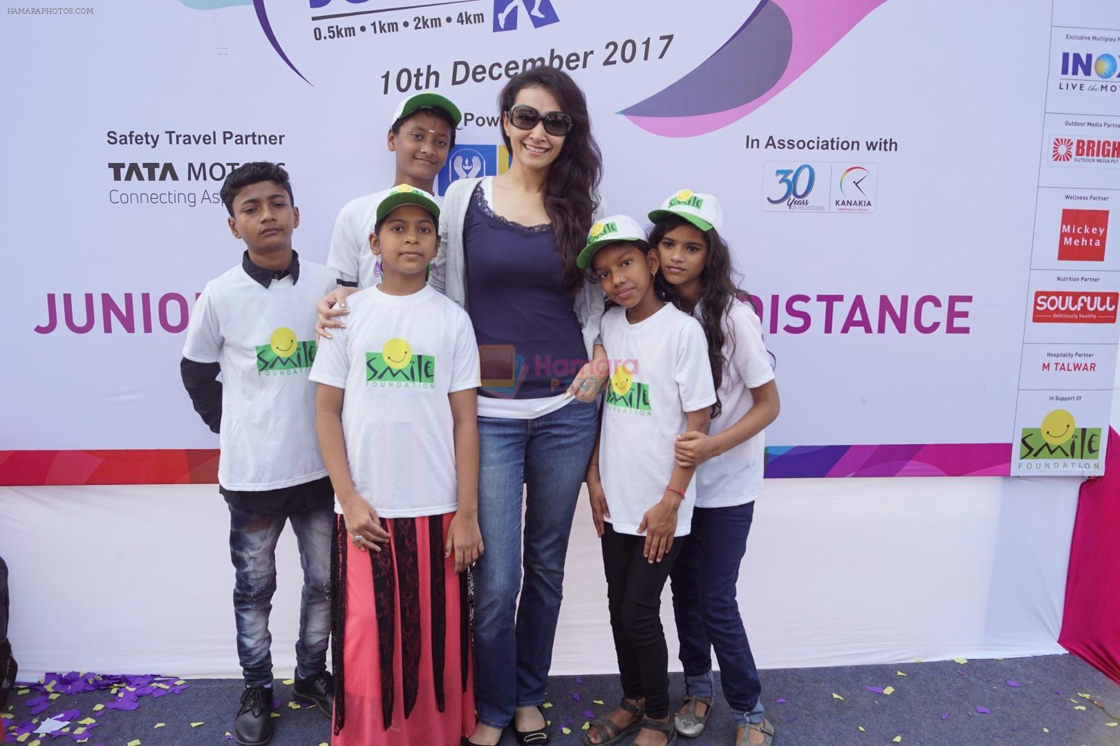 Dipannita Sharma at Mumbai Juniorthon An annual Running Event For Kids on 10th Dec 2017