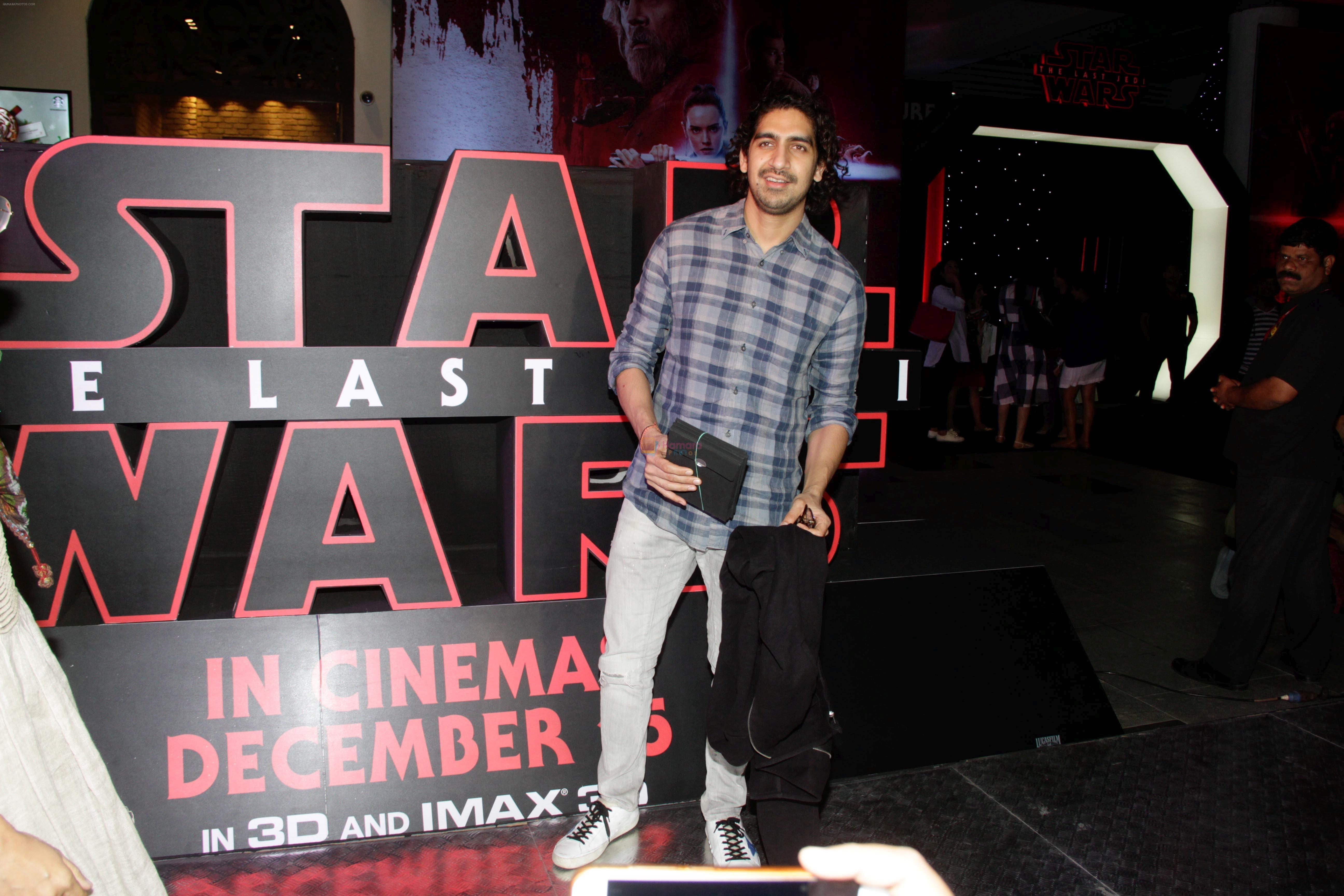 Ayan Mukherjee at the Red Carpet Premiere Of 2017's Most Awaited Hollywood Film Disney Star War on 13th Dec 2017