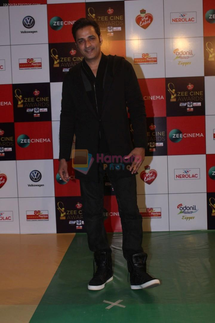 Ganesh Hegde at the Red Carpet Event Of Zee Cine Awards 2018 on 19th Dec 2017